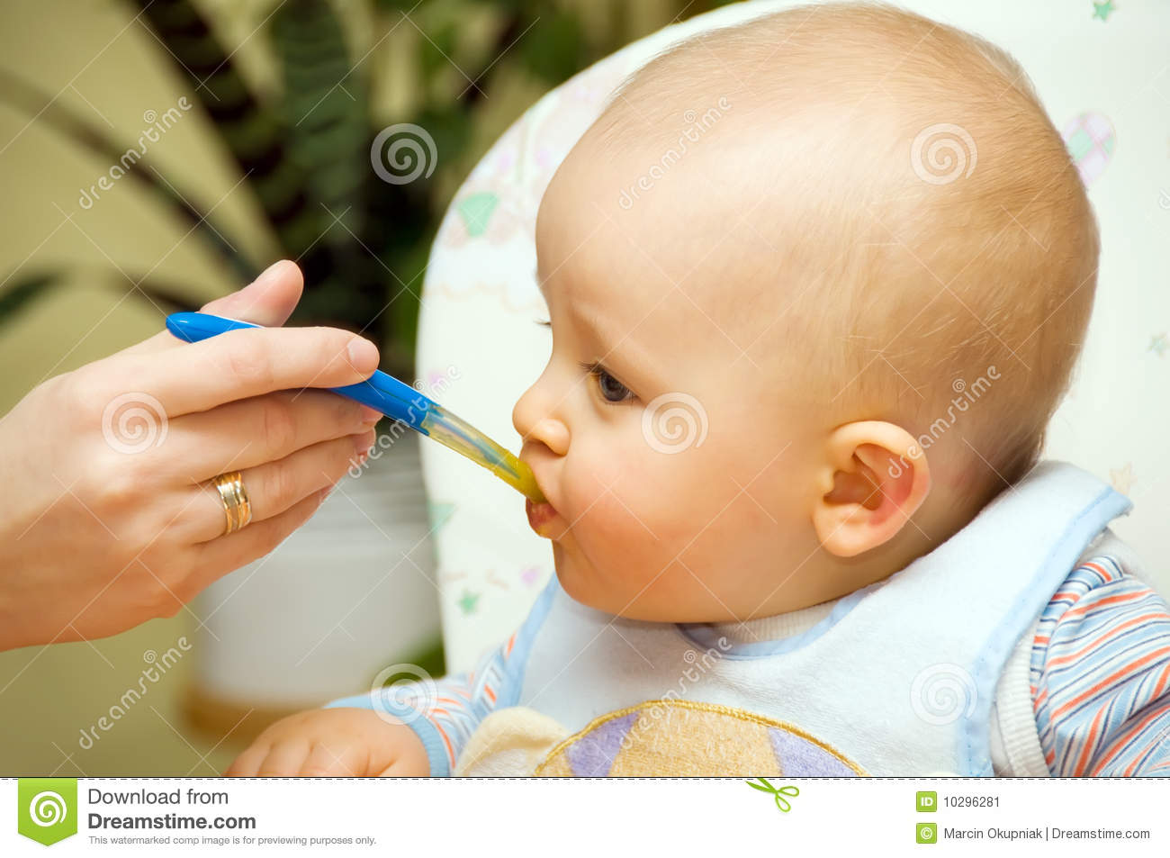 Download Baby boy eating stock image. Image of happiness, beauty - 10296281