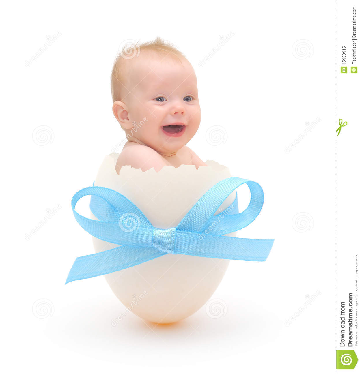 Baby Boy In Egg Royalty Free Stock Photo - Image: 15930915