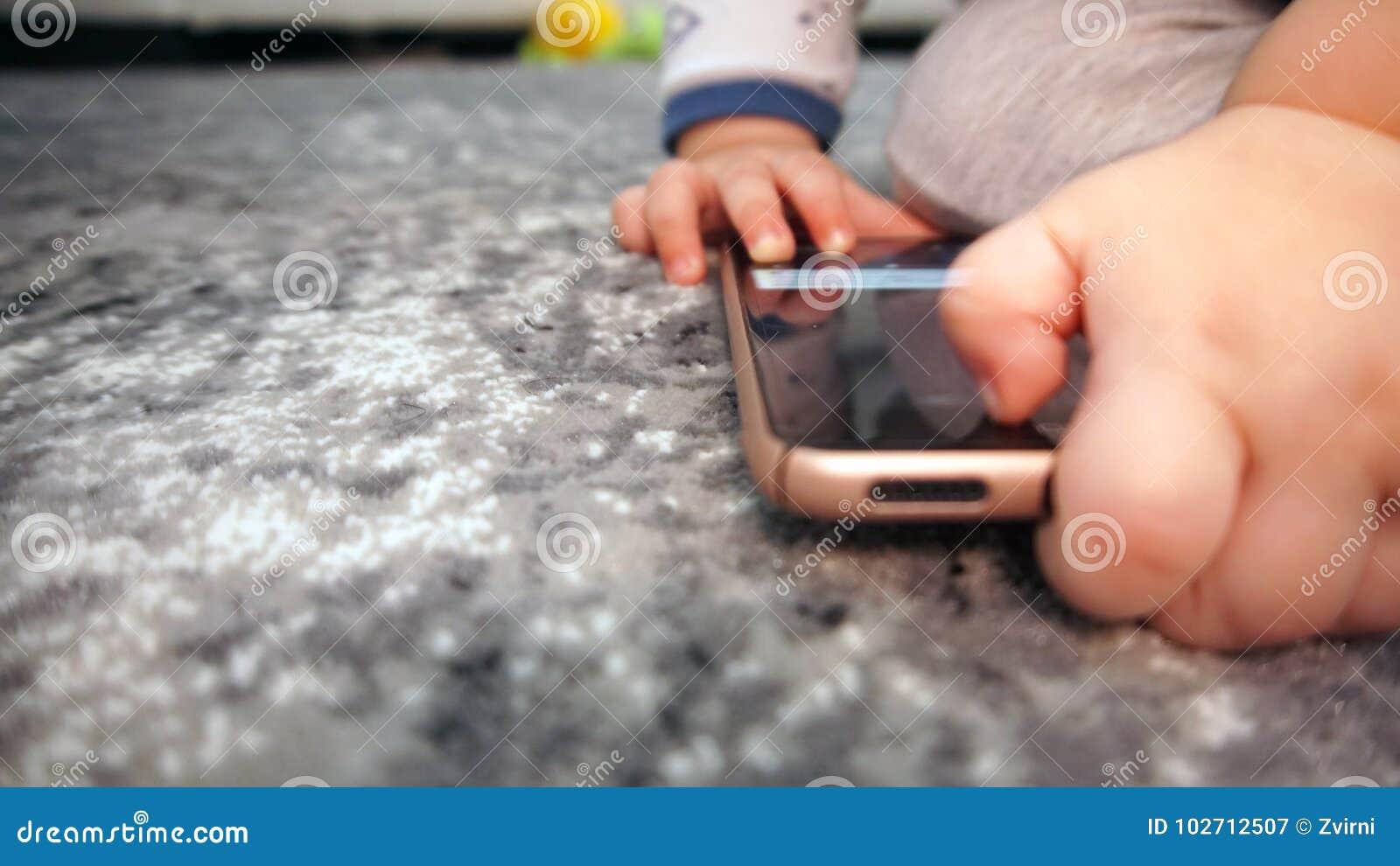 Baby boy hands