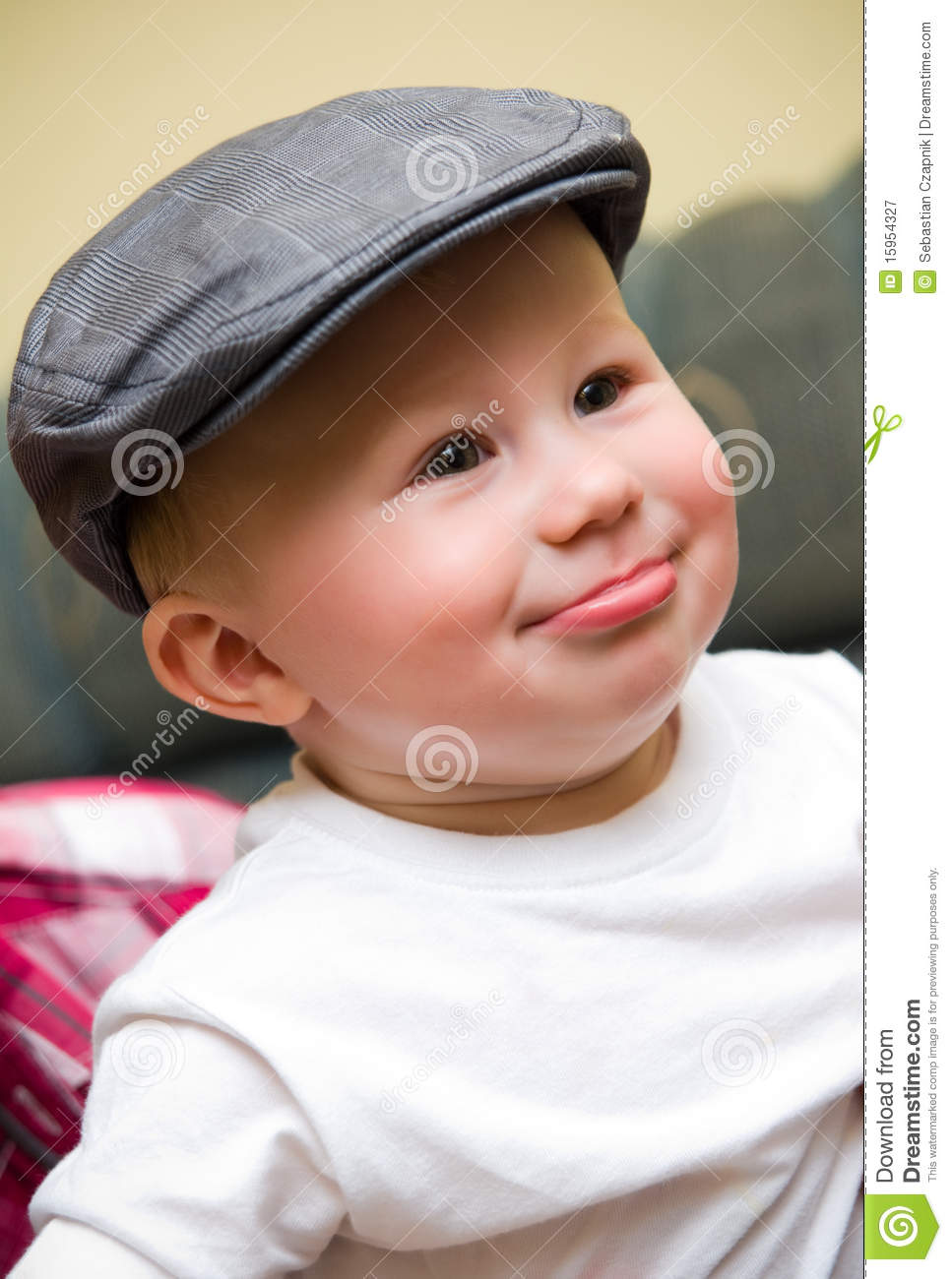 Baby Boy Hat Photography