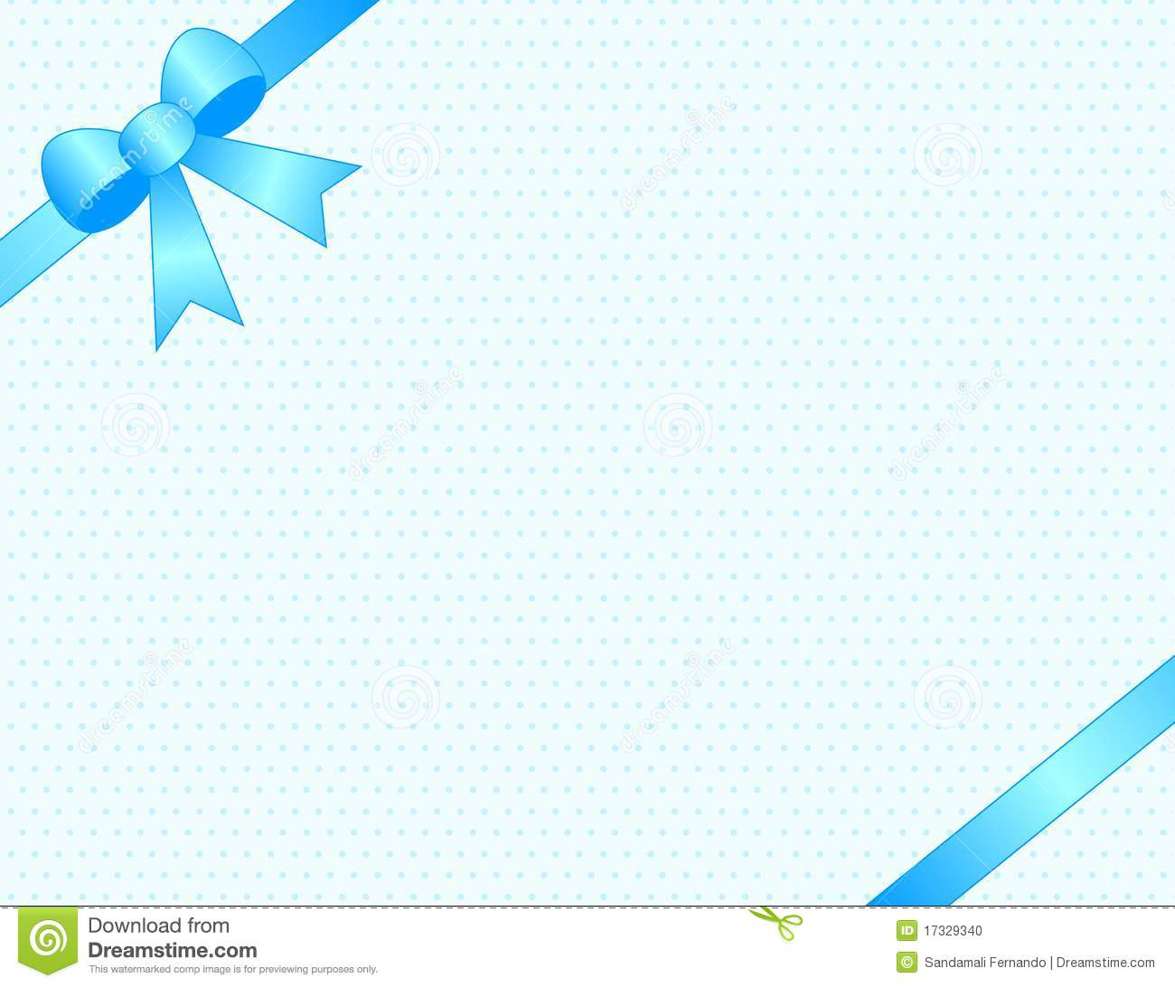 Baby Boy Invitation Stock Photo Image 17329340