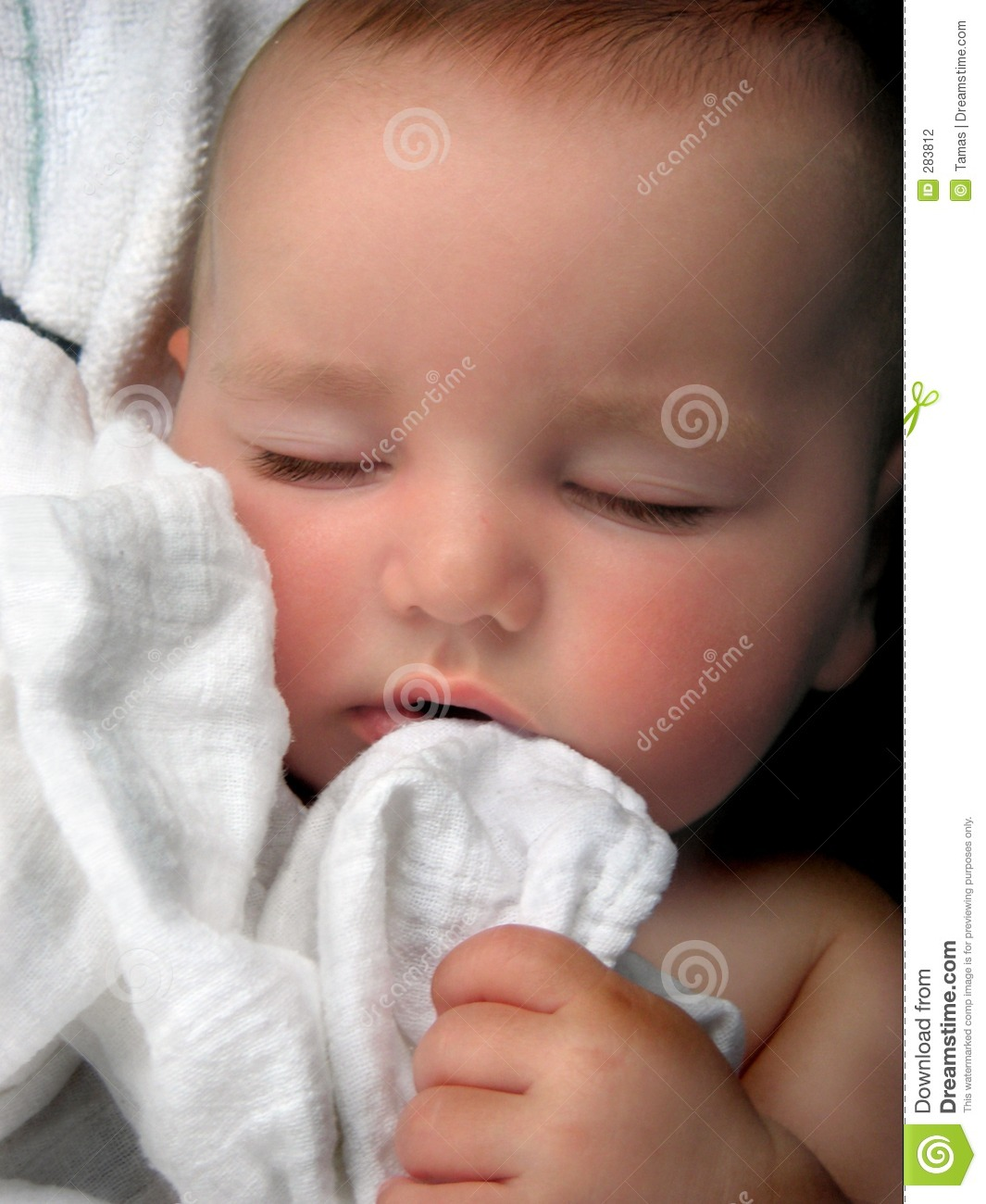 Baby Boy Lullaby Portrait