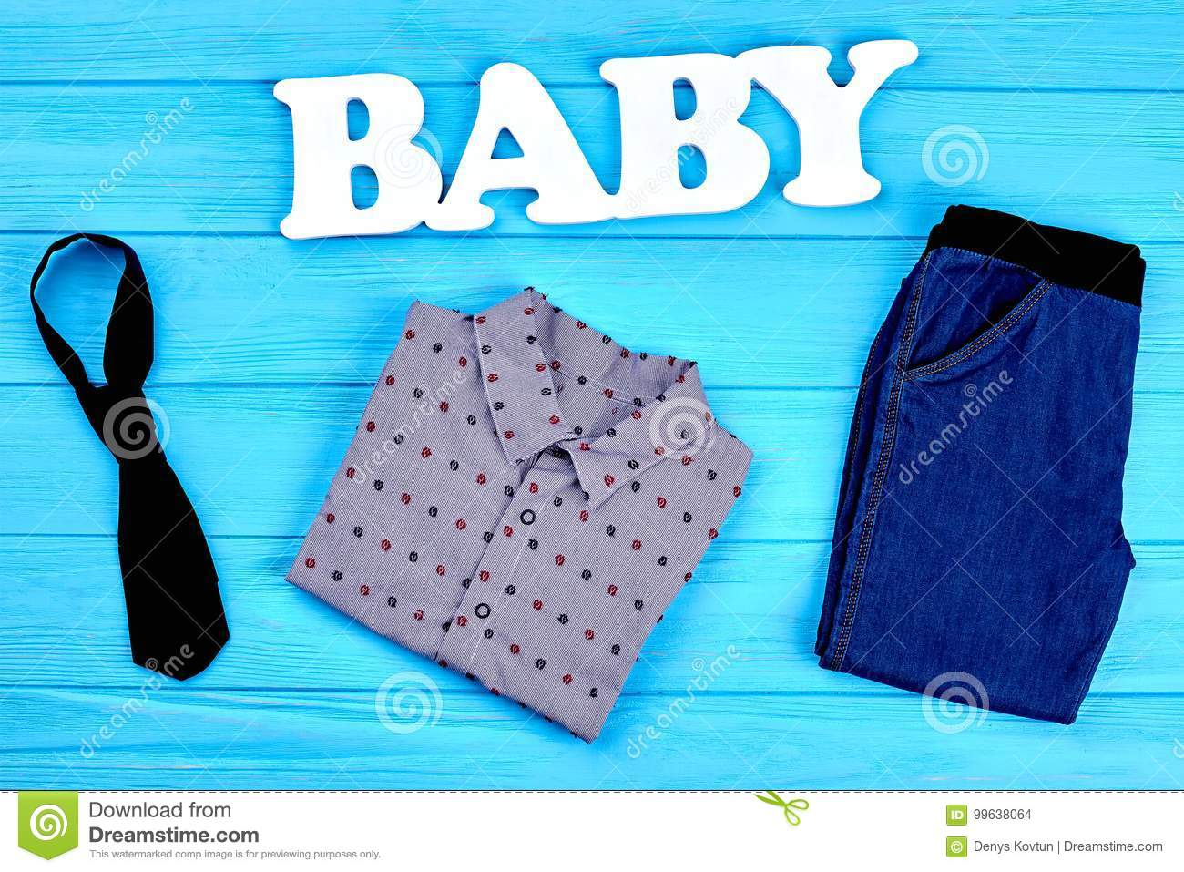 e72bb7455 Baby-boy Modern Clothes Background. Stock Photo - Image of attire ...