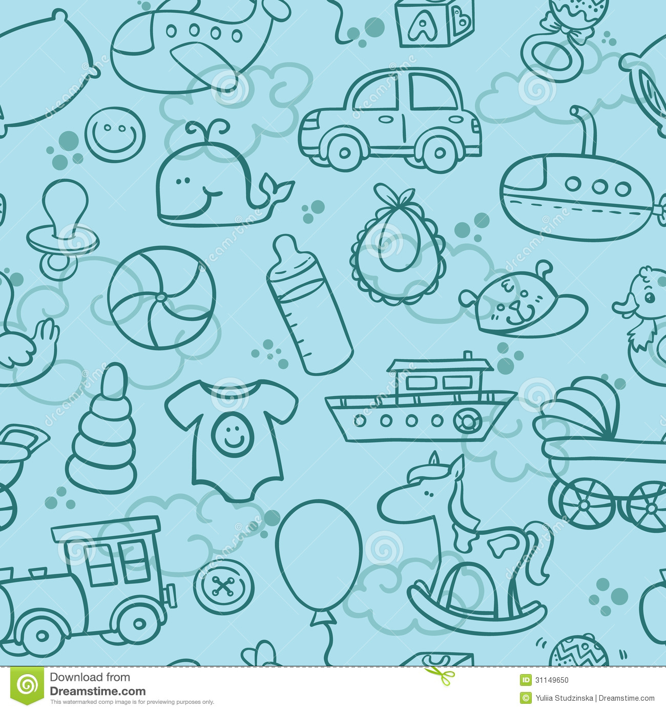 Stock Photo  Baby boy patternBaby Boy Patterns