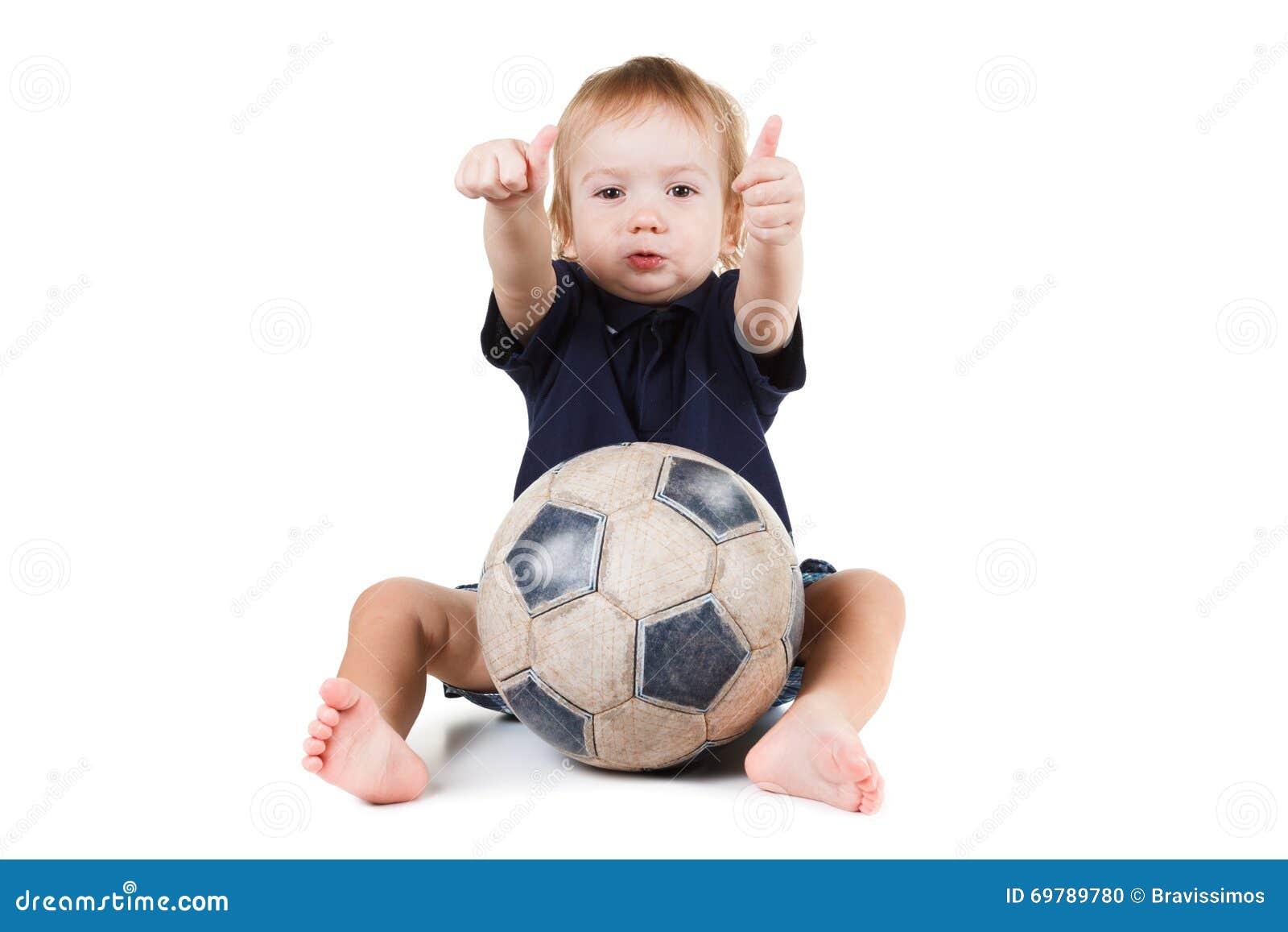 Baby soccer ball