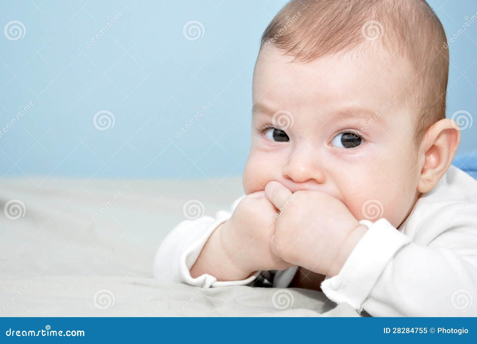 Baby Boy Posing Royalty Free Stock Photo - Image: 28284755 Newborn Boy Photography Poses