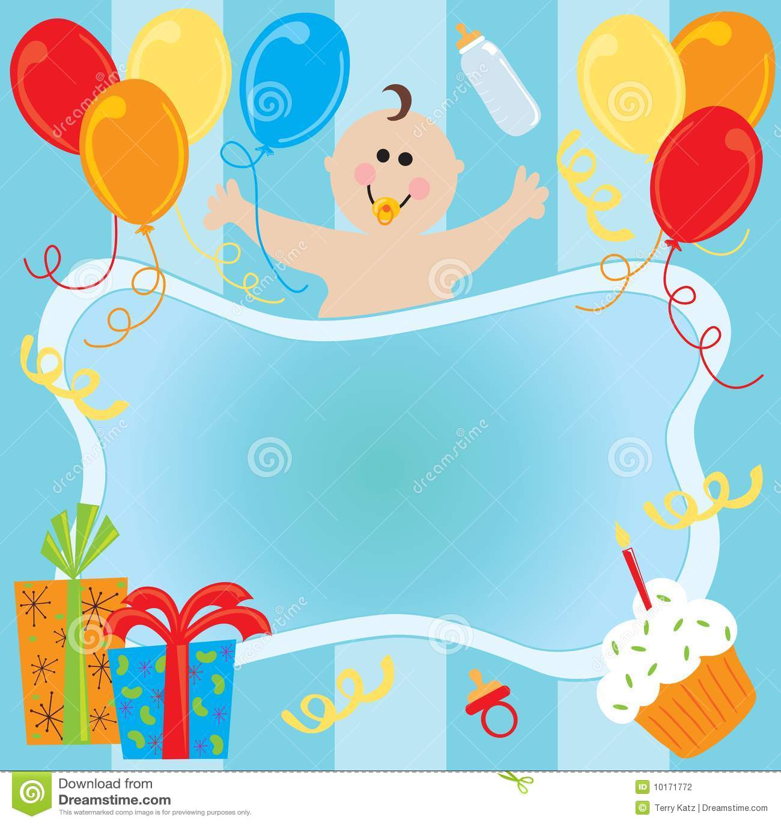 Boy Girl Twin Baby Shower Invitations is beautiful invitation layout