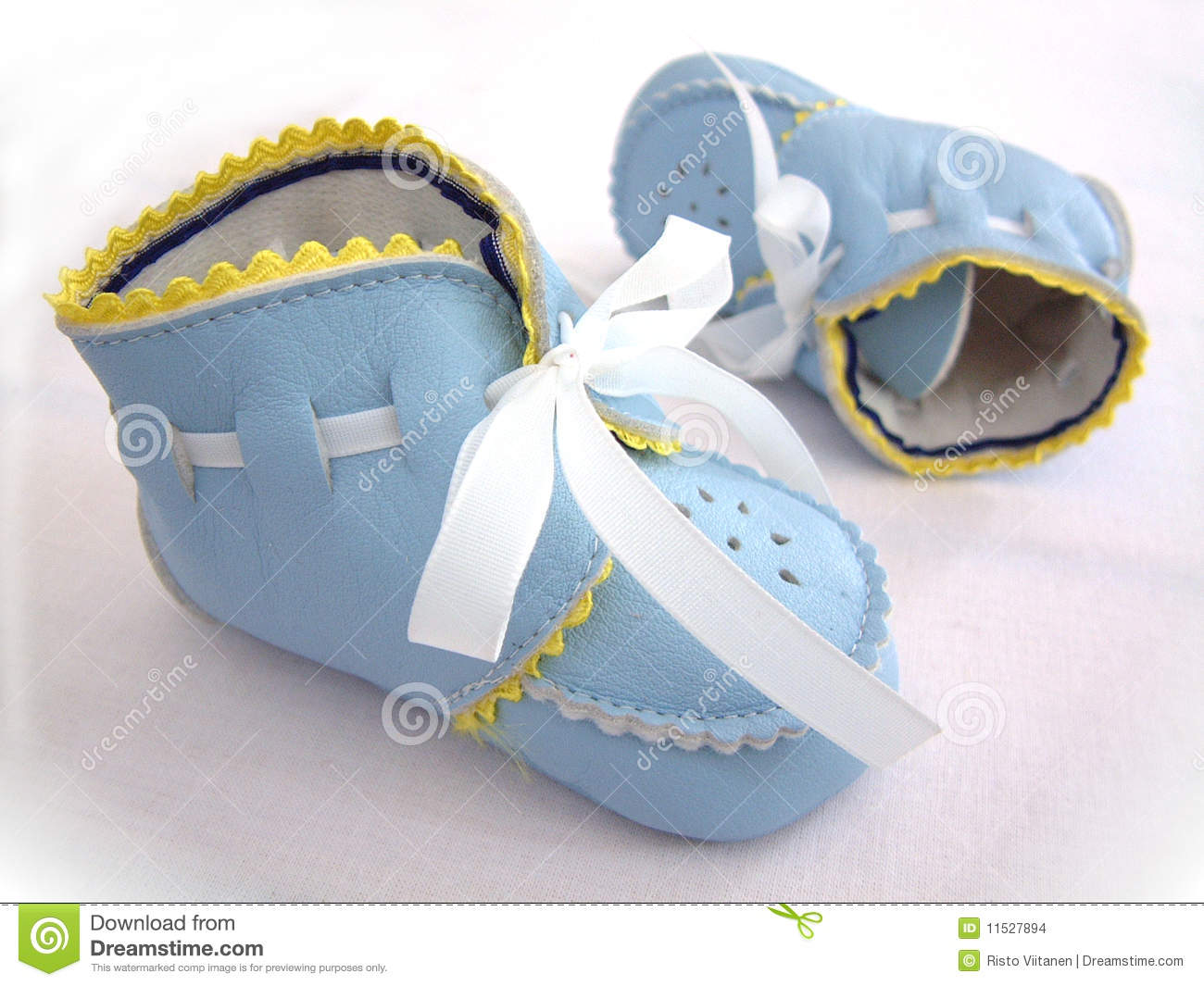 Baby Boy s First Shoes Stock Image