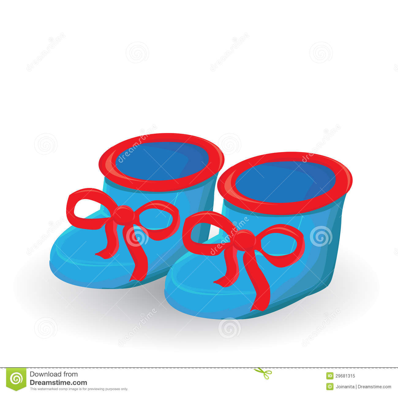 Royalty Free Stock Photo: Baby boy shoes