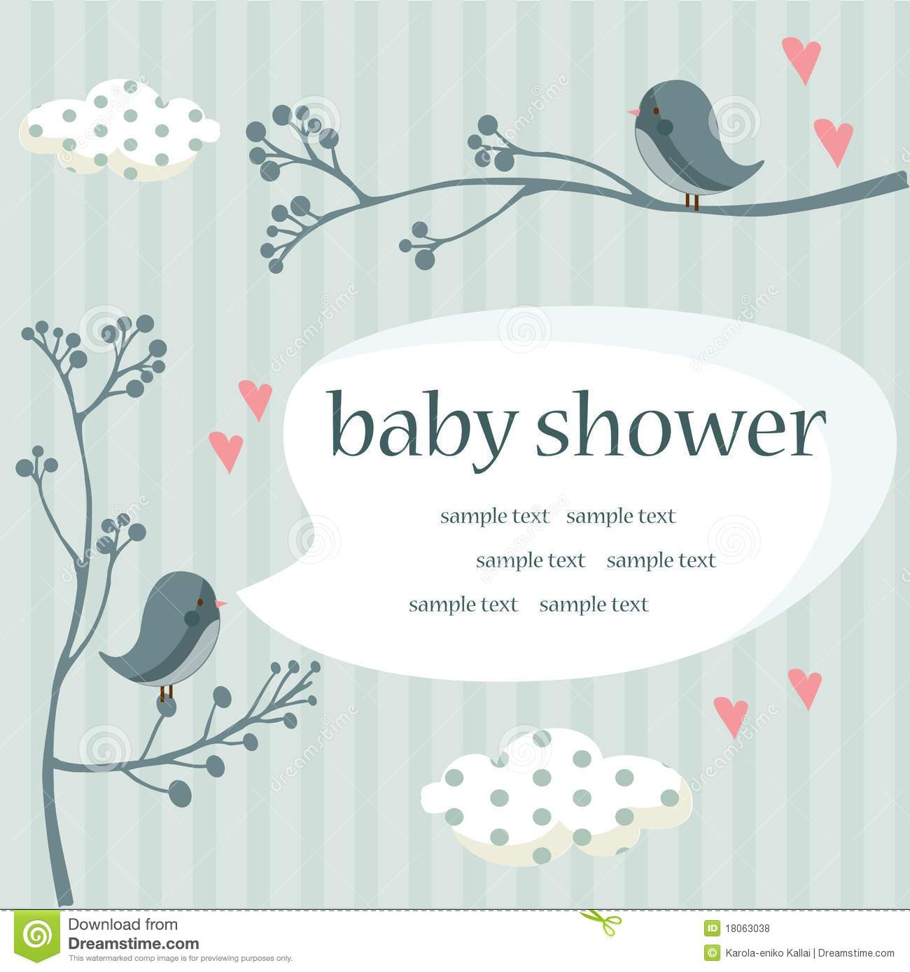 baby boy shower royalty free stock photos image 18063038