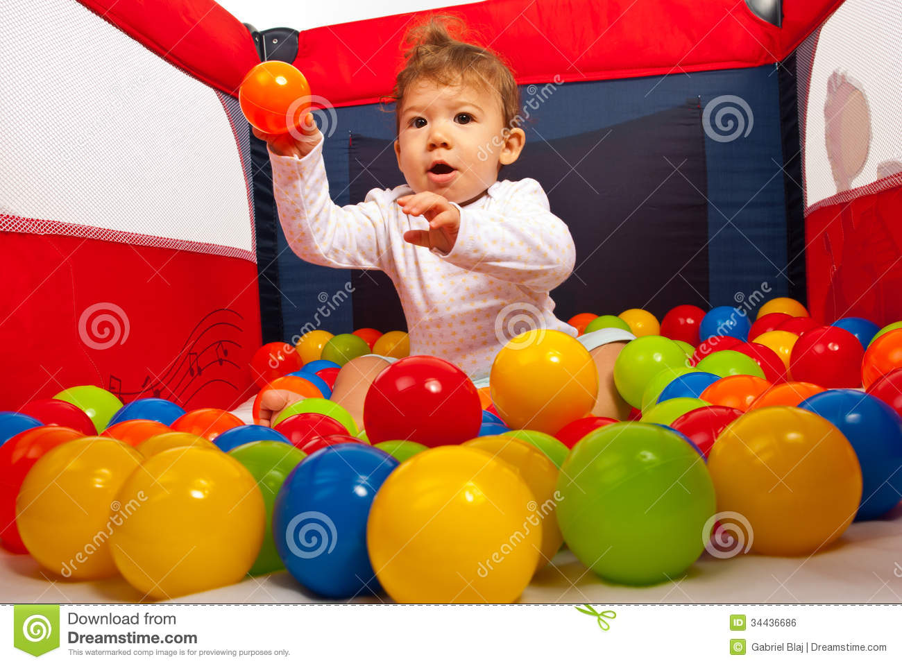 Toys Balls Sports Toddlers Boys : Baby boy throw the ball stock photo image of childhood