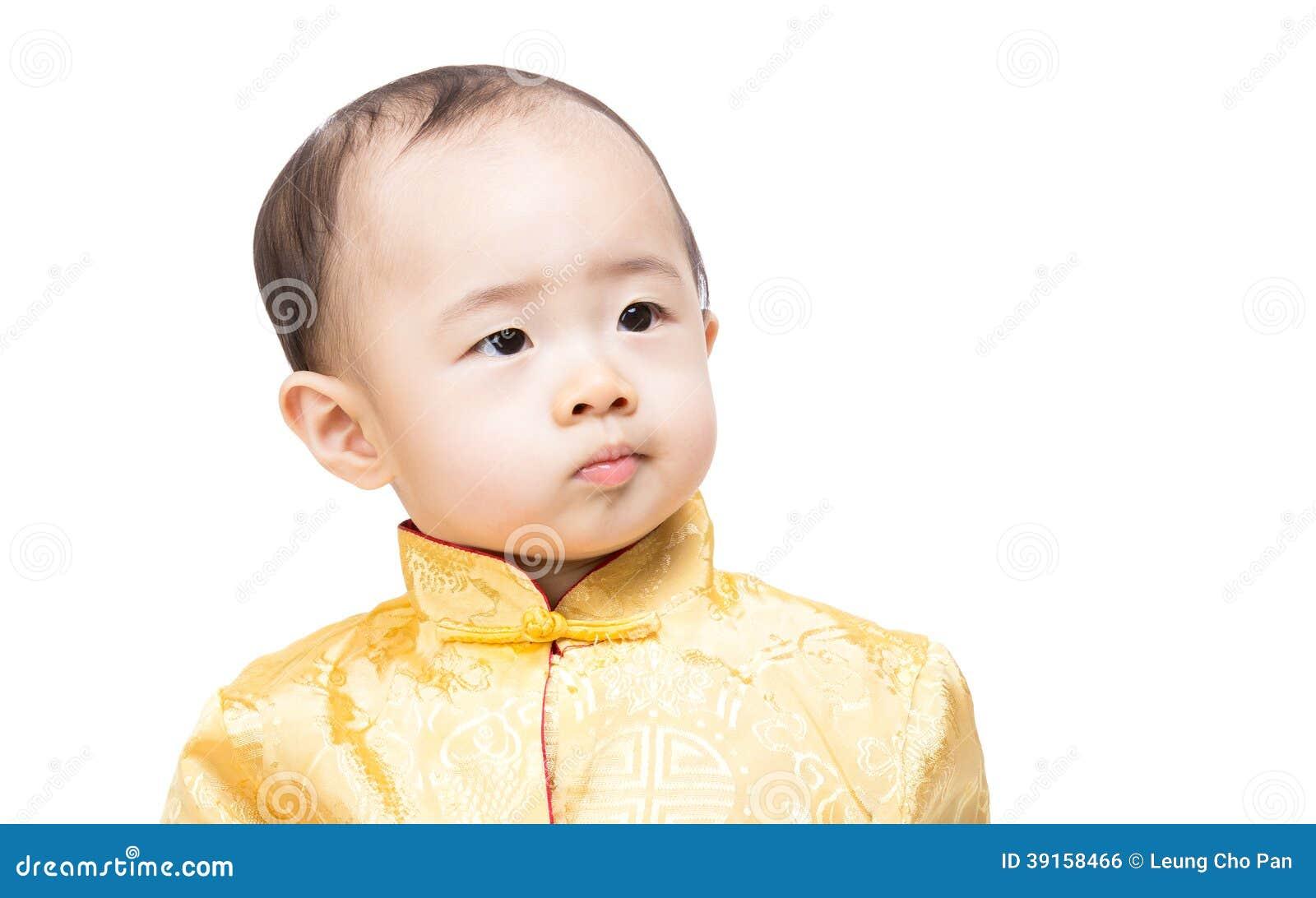 China white skin boy