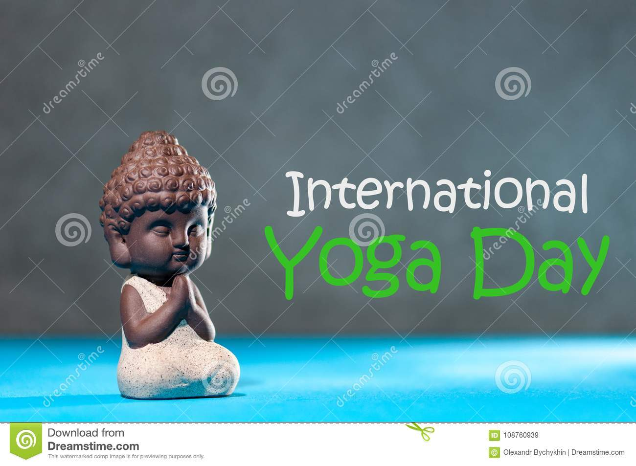 Baby buddha with his hand in greeting sign namaste and concept of download baby buddha with his hand in greeting sign namaste and concept of the international yoga m4hsunfo