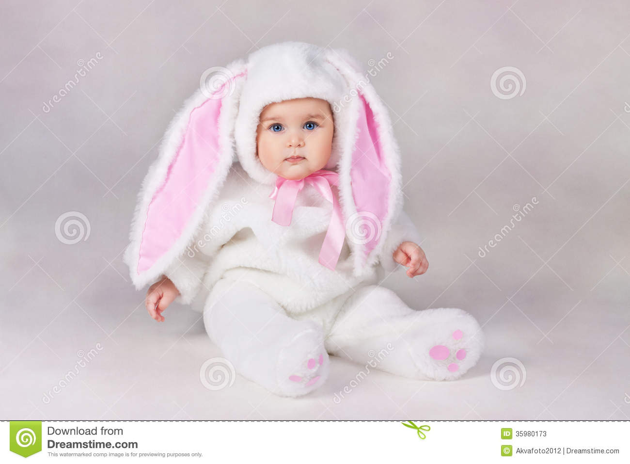 Baby Bunny Costume Photos