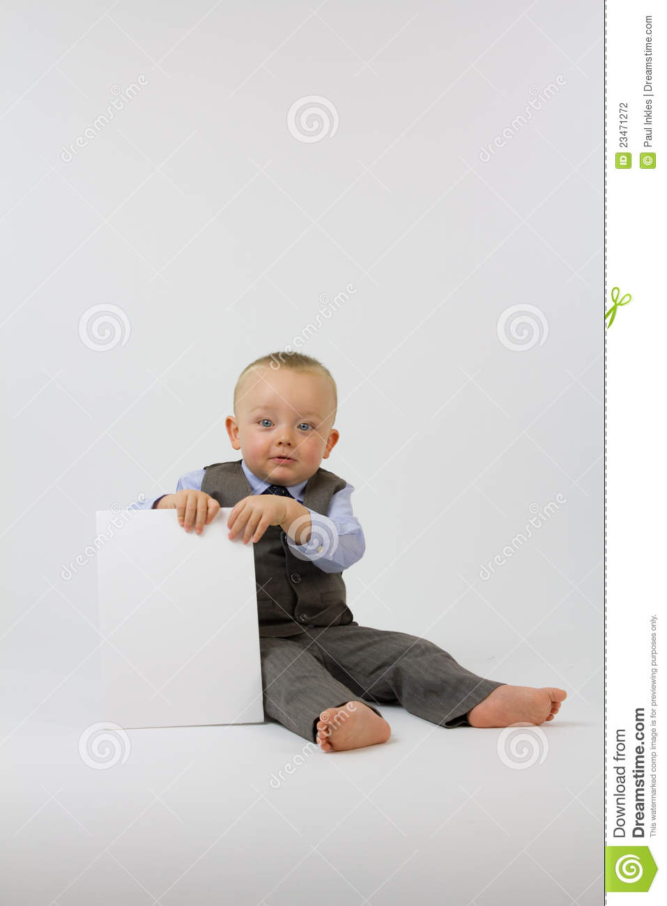 Baby In Business Suit