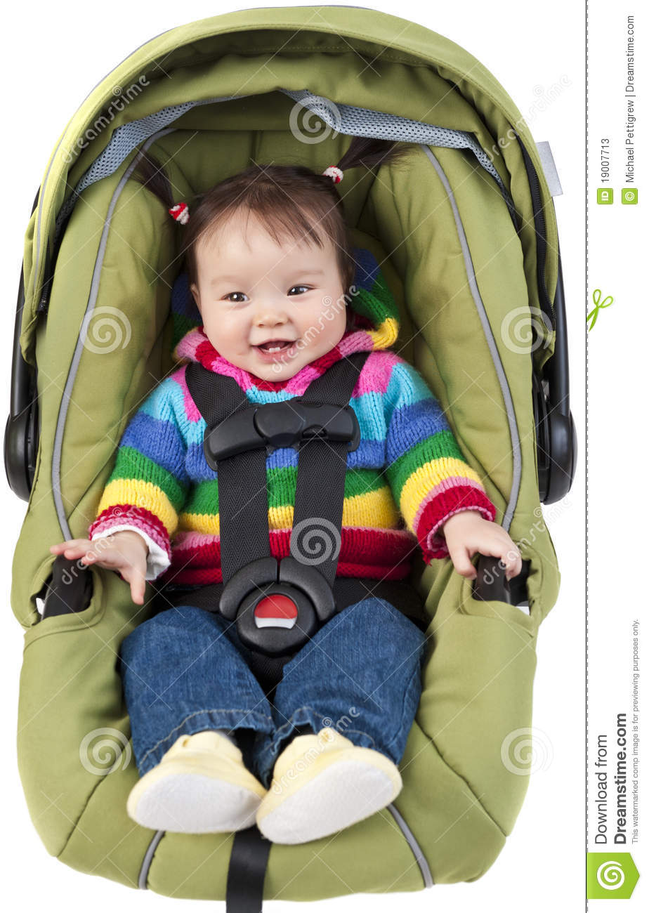 Baby In Car Seat Stock Photos Image 19007713