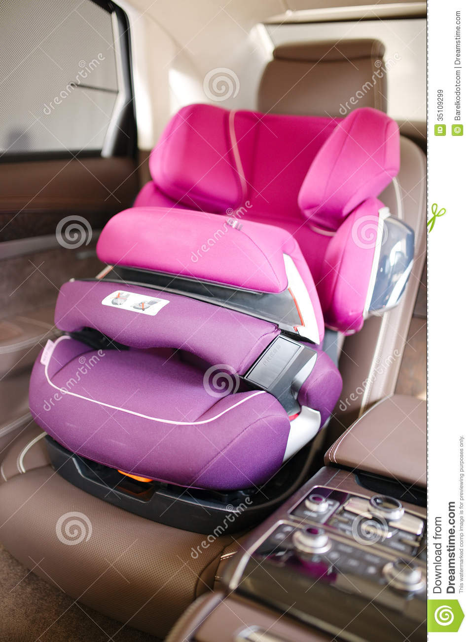 pink car seat for toddler baby car seat stock image image of care infant person disney minnie. Black Bedroom Furniture Sets. Home Design Ideas