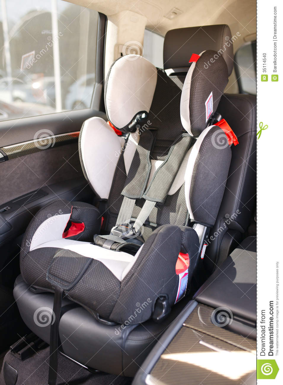 Baby Car Seat Stock Photo Image 35114540
