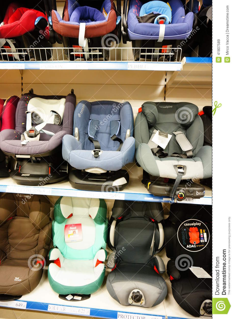 Baby Car Seats Editorial Stock Image Image Of Baby Accessory