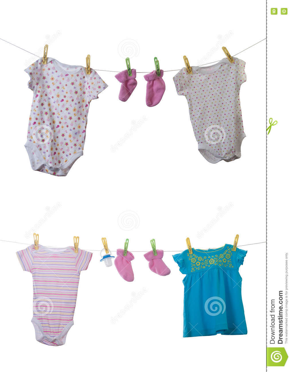 Baby clothes stock photo Image of first blue clothing
