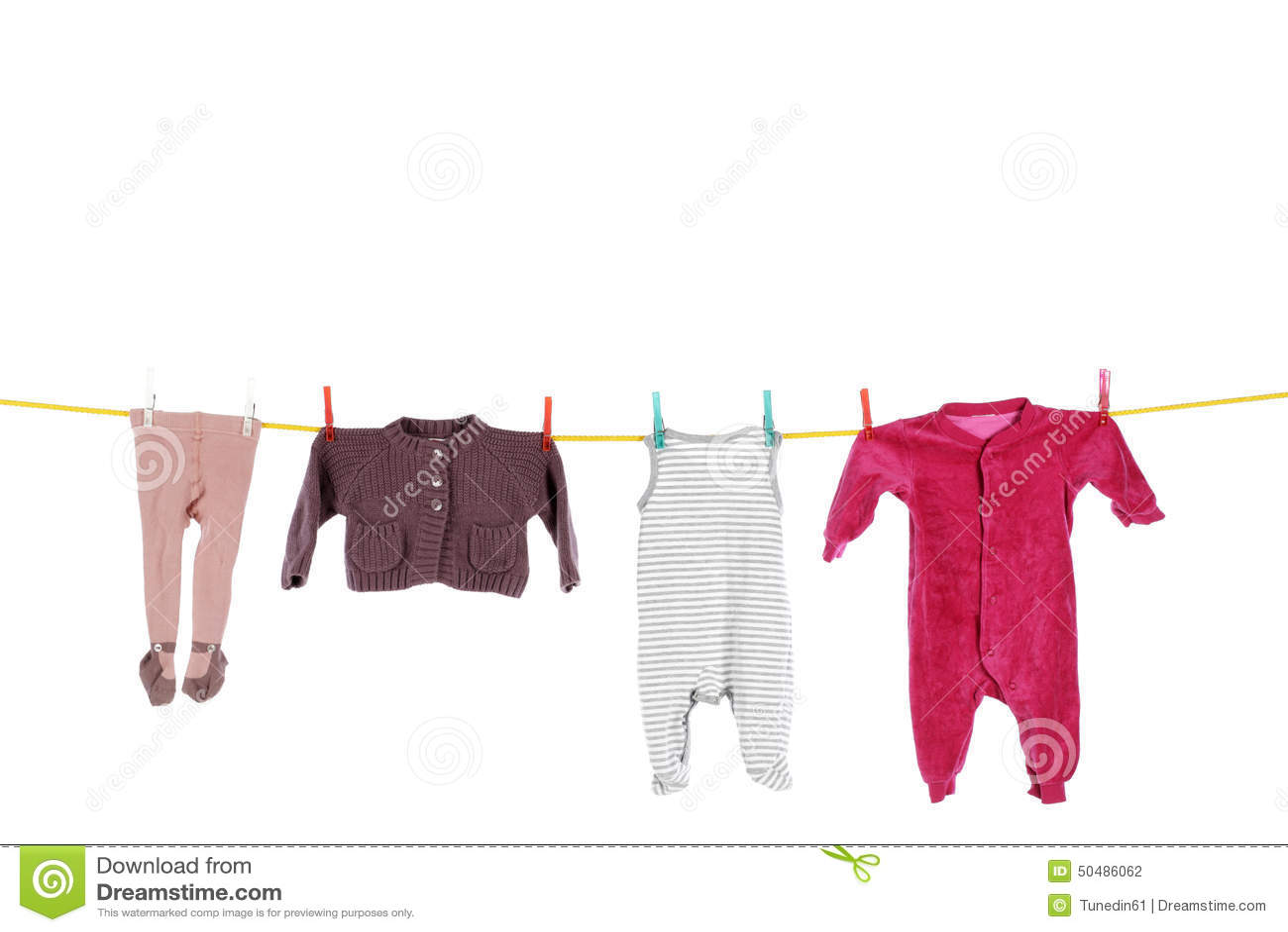 Washing Lines Laundry Patterns Dhobhi Ghat Stock Image
