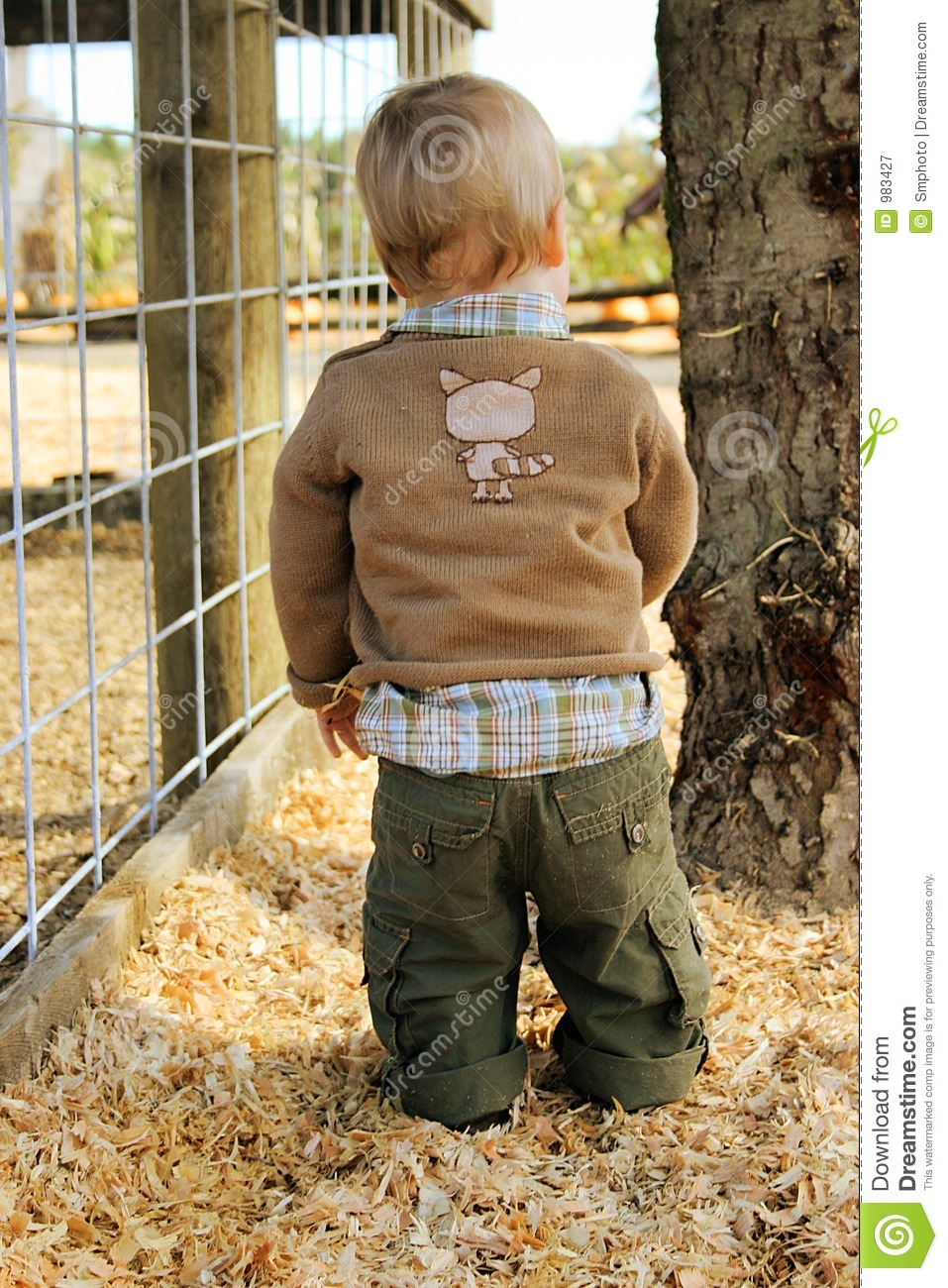 Baby In The Country Stock Image Image Of Year Outfit
