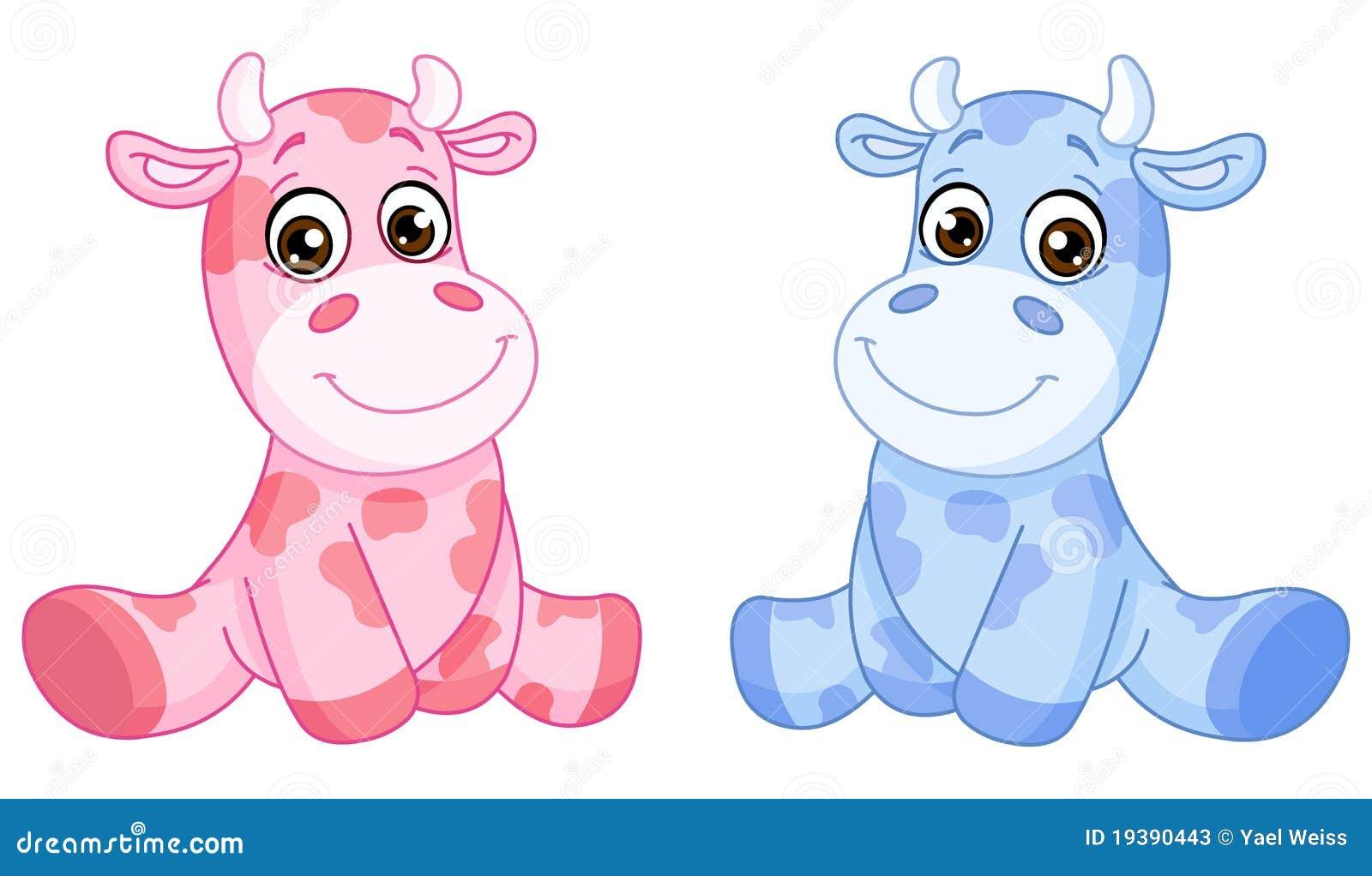 Baby Cows Stock Photos Image 19390443
