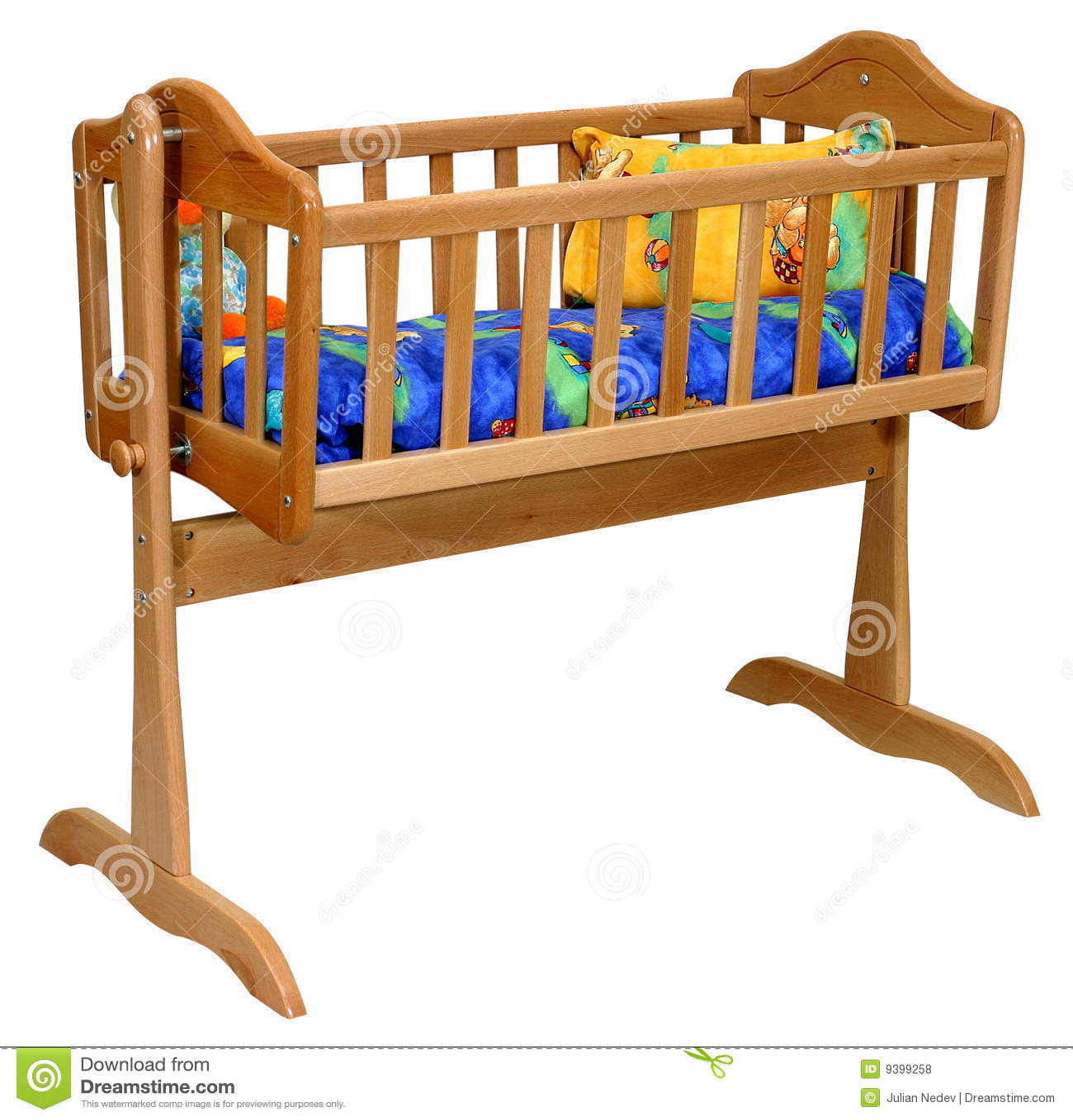 Baby Cradle Stock Photo Image Of Background Children