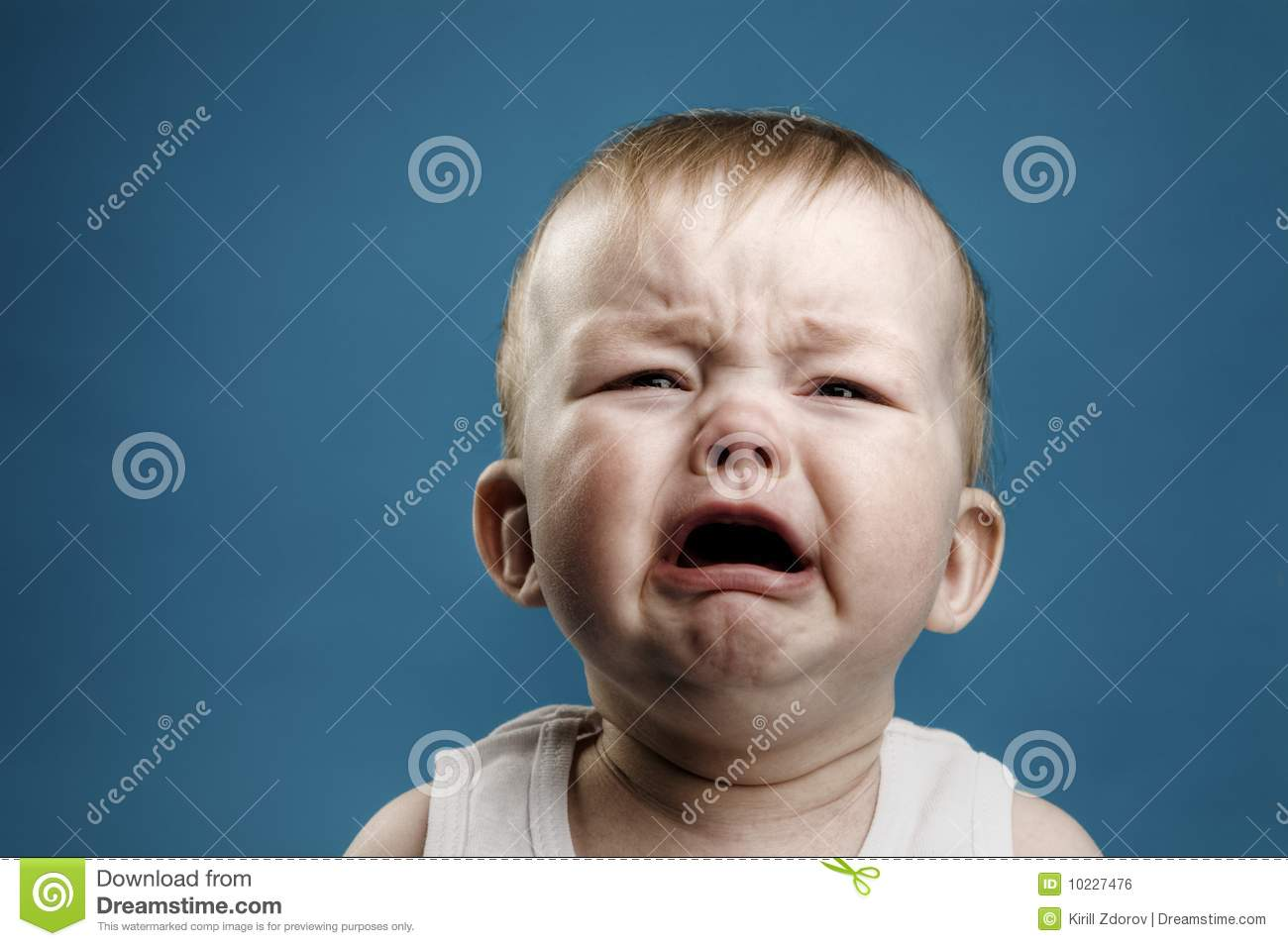 Baby Crying Royalty Free Stock Image  Image: 10227476