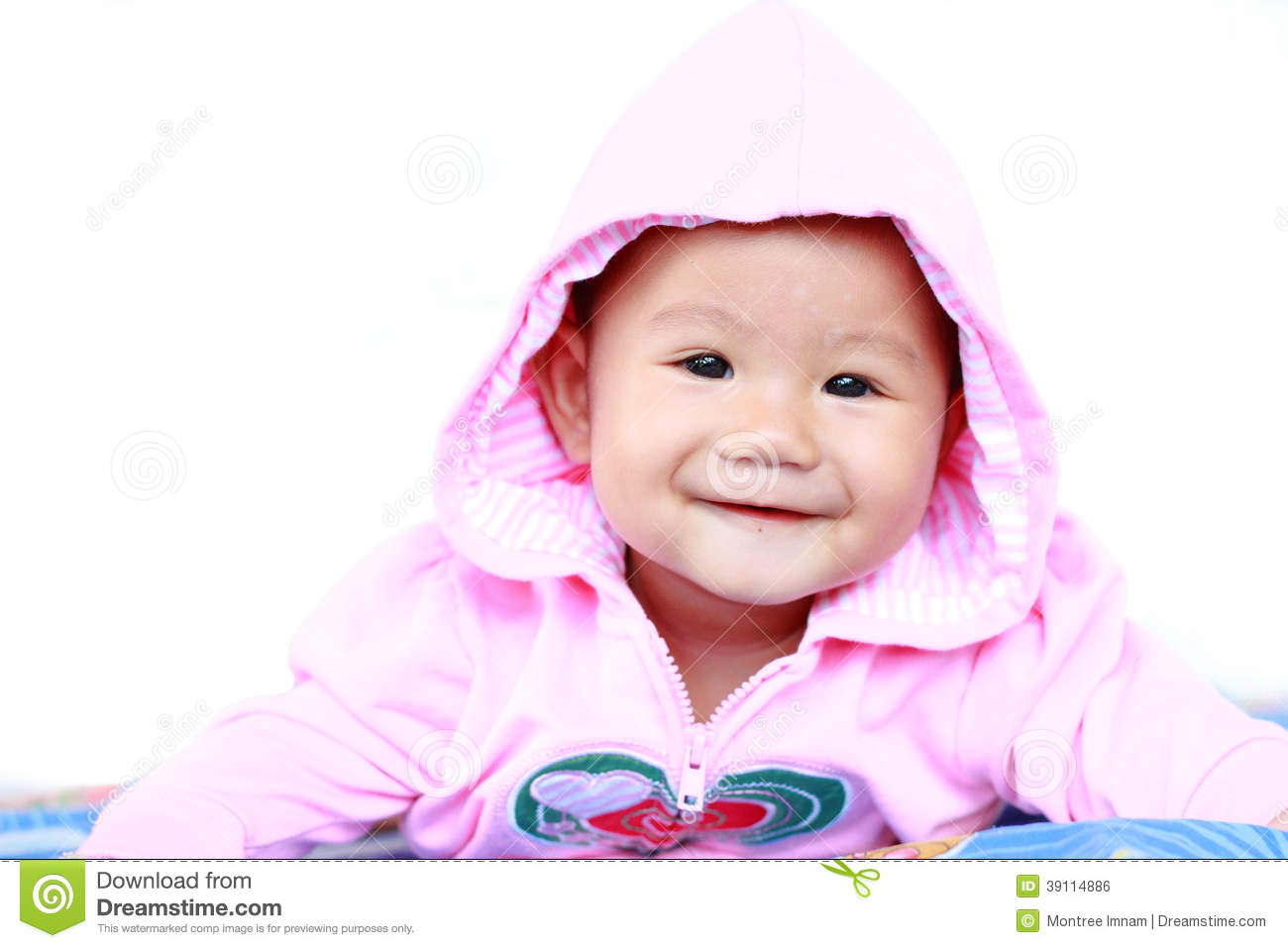 baby cute baby girl portrait stock photo - image of isolated