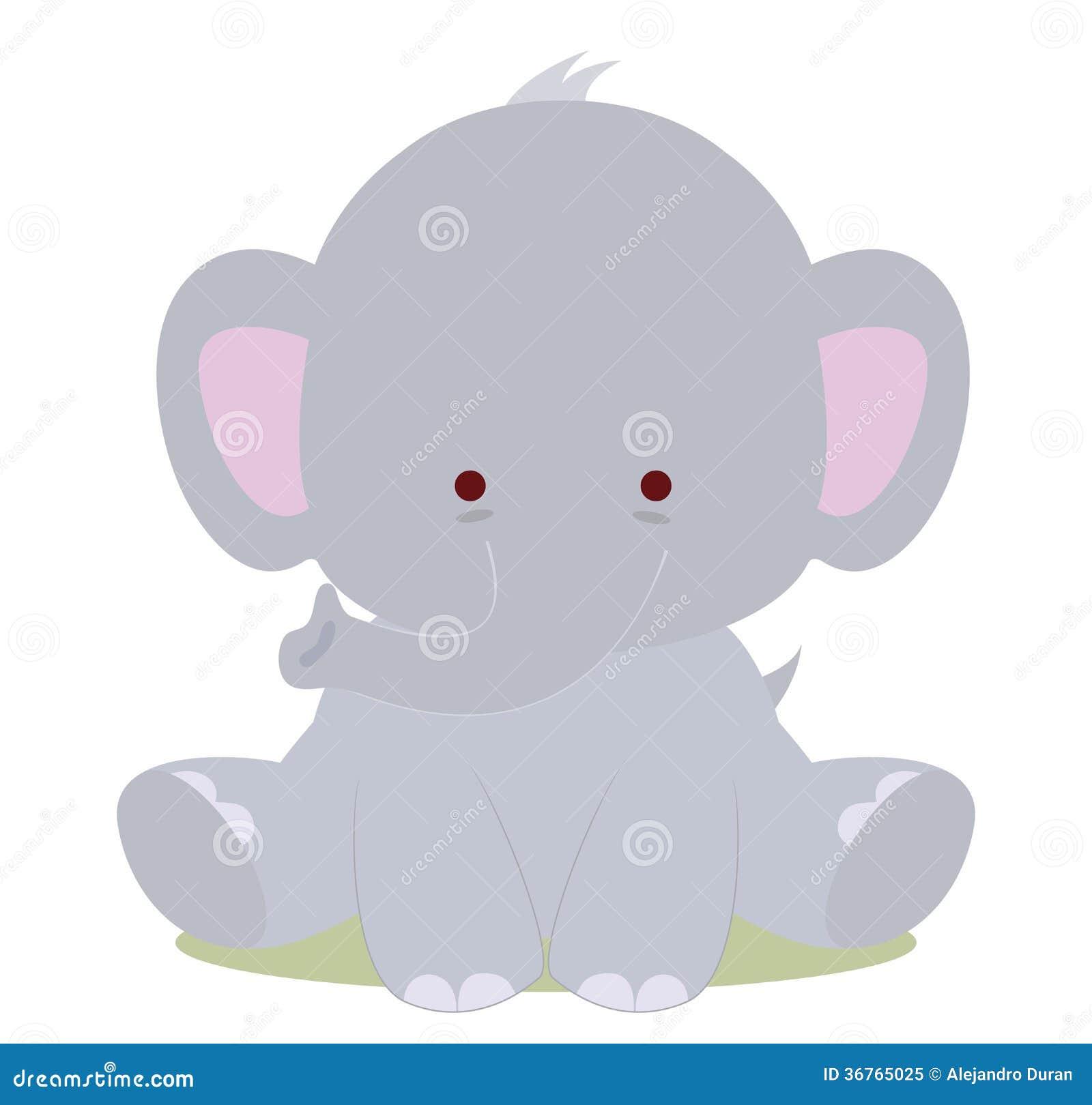 baby cute elephant royalty free stock photo   image 36765025