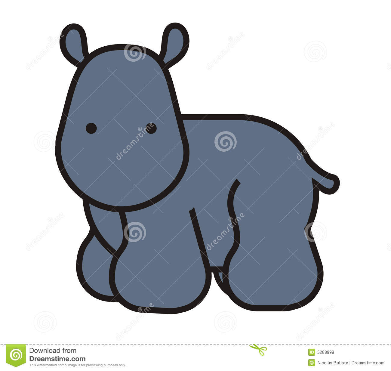 Uncategorized How To Draw A Cute Hippo baby cute hippo stock illustration image of hippopotamus 5288998 royalty free photo download hippo
