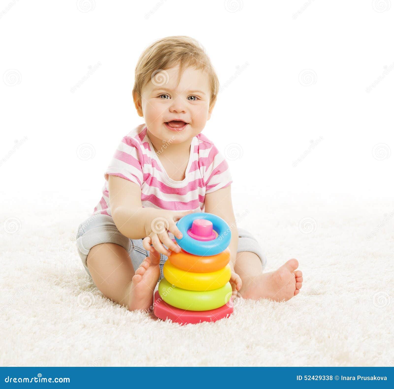 baby das spielwaren kinderspiel pyramiden turm kleinkind bildung spielt stockfoto bild. Black Bedroom Furniture Sets. Home Design Ideas