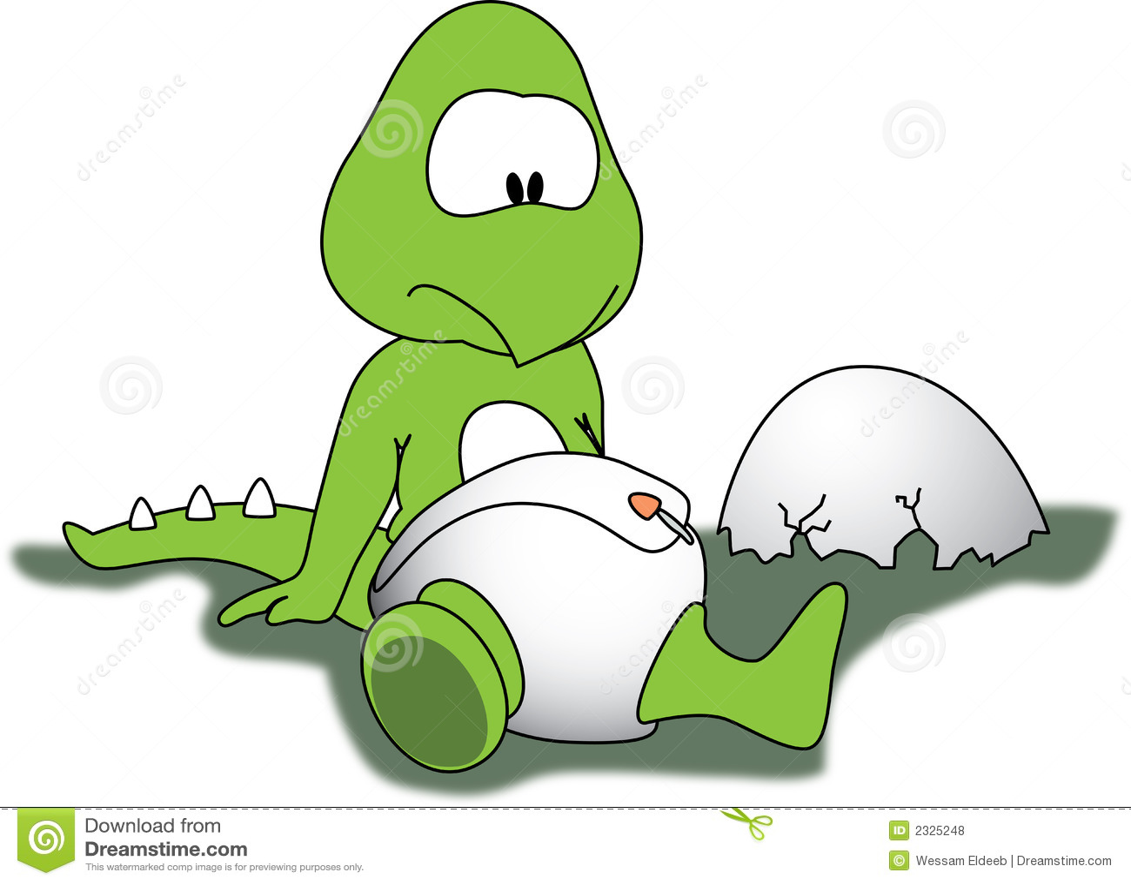 Baby Dino Royalty Vrije Stock Foto S Afbeelding 2325248