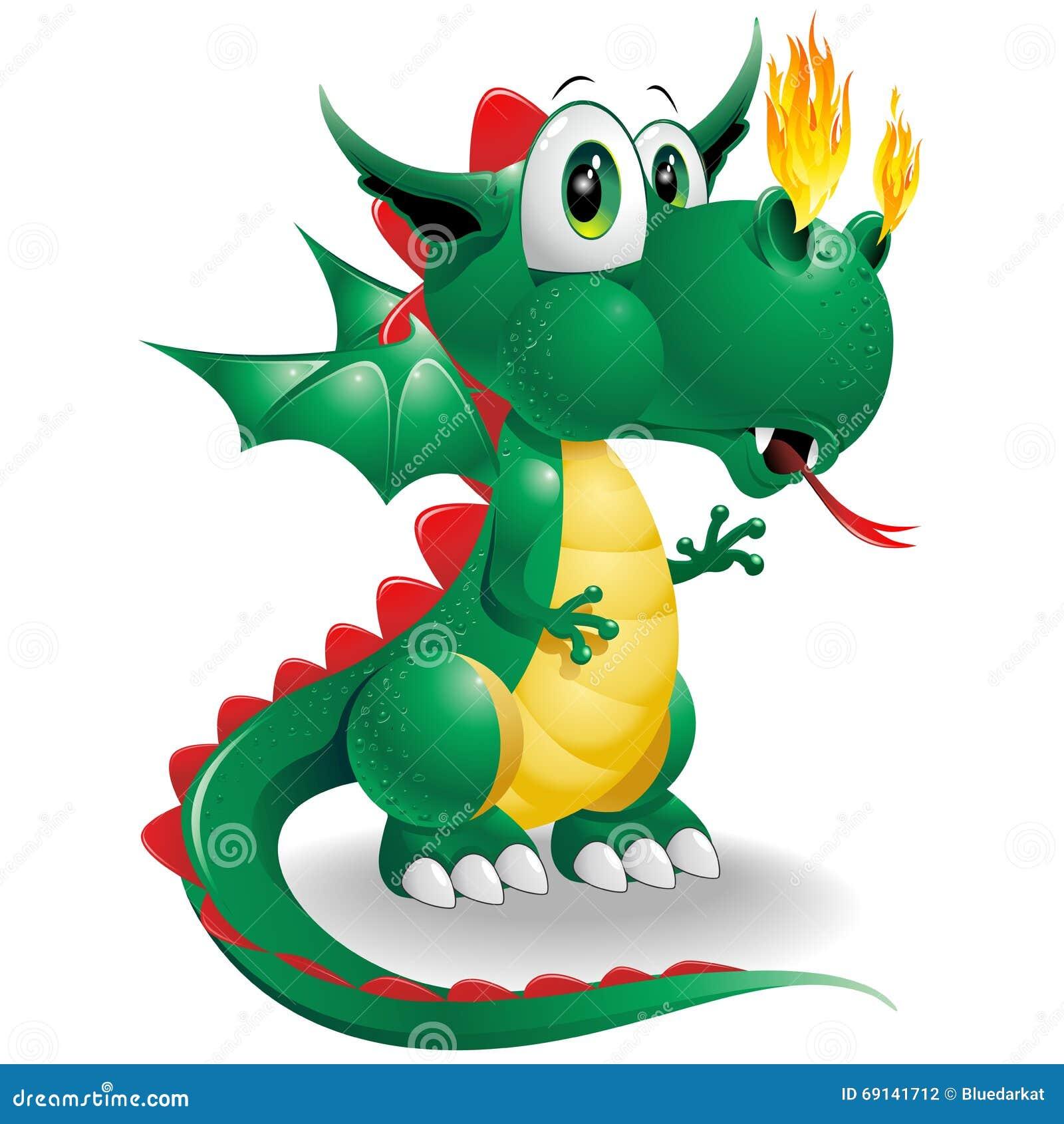 baby dragon cute cartoon illustration 69141712 megapixl