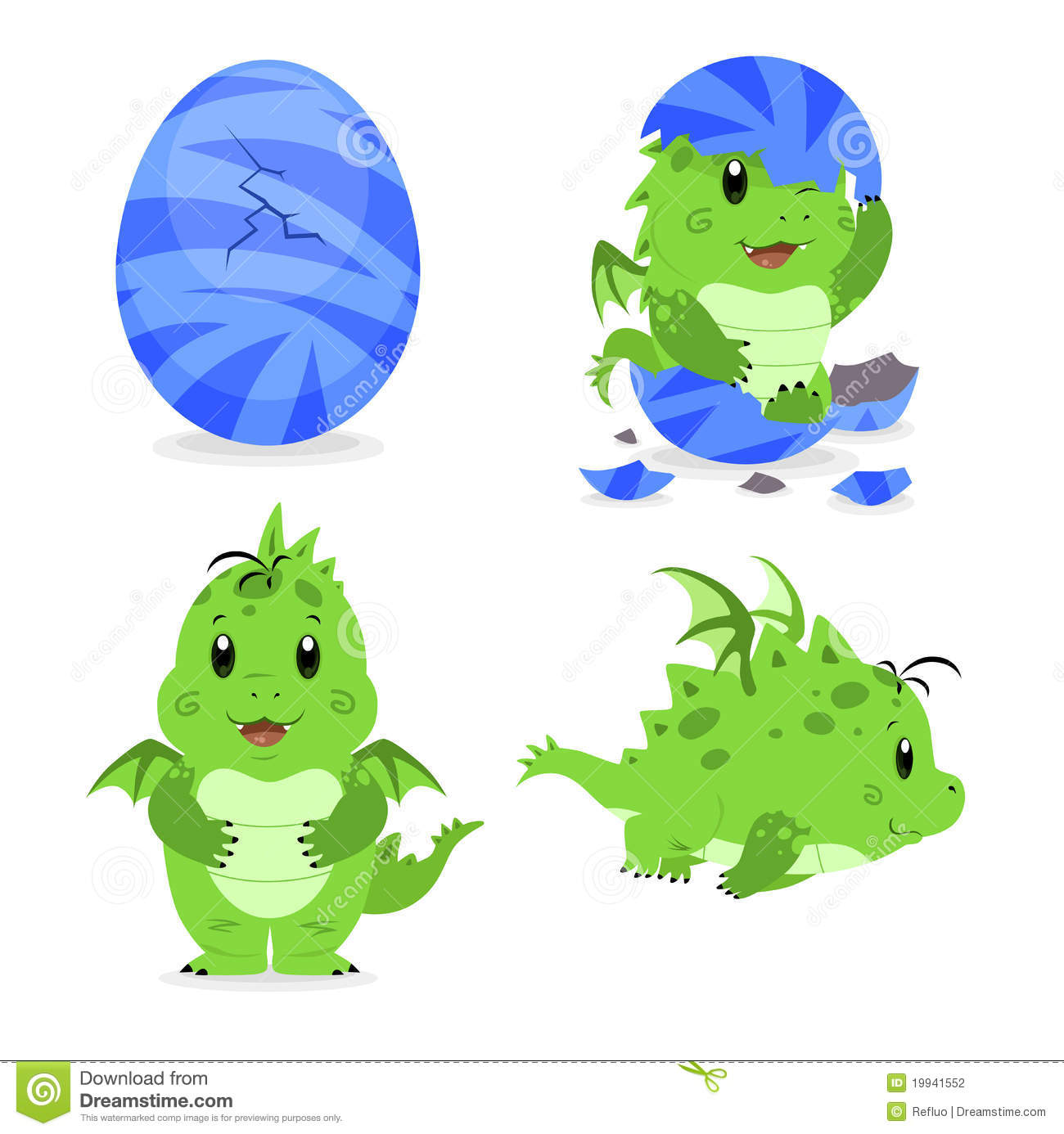 how to draw a baby dragon hatching
