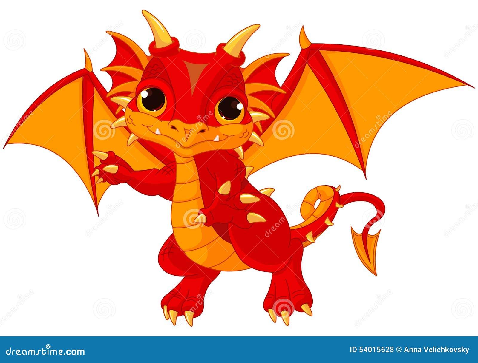 Baby Dragon Stock Vector - Image: 54015628