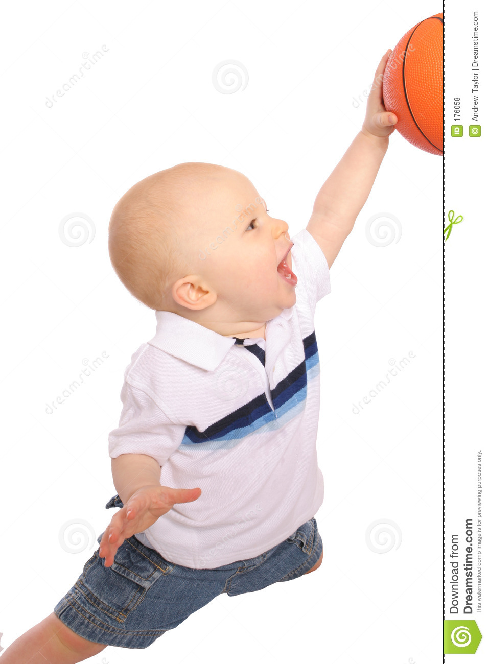 Baby Dunking Royalty Free Stock Photos Image 176058