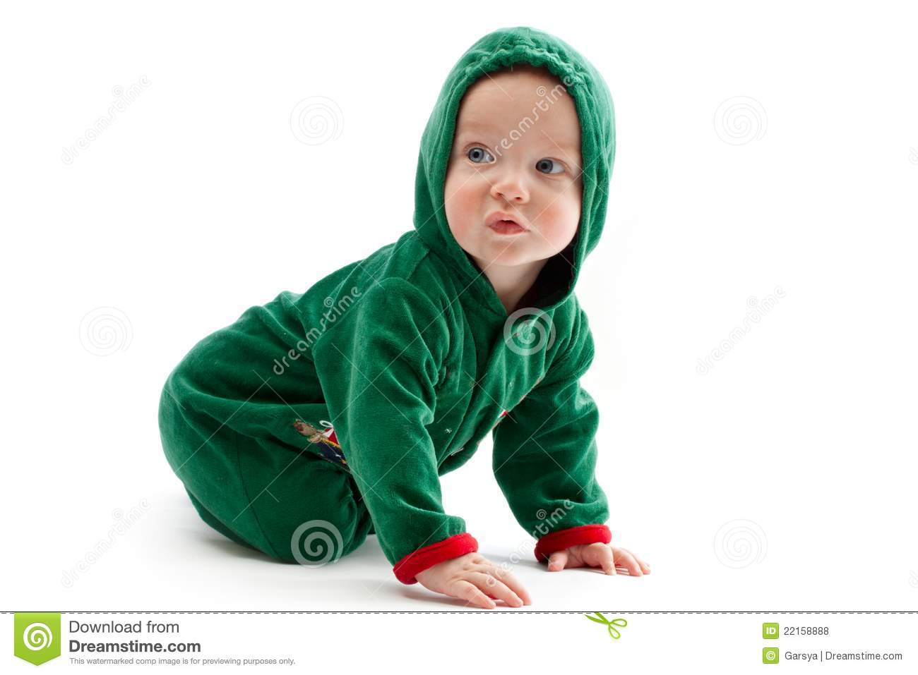 Download comp  sc 1 st  Dreamstime.com & Baby in elf-costume stock photo. Image of child celebrate - 22158888