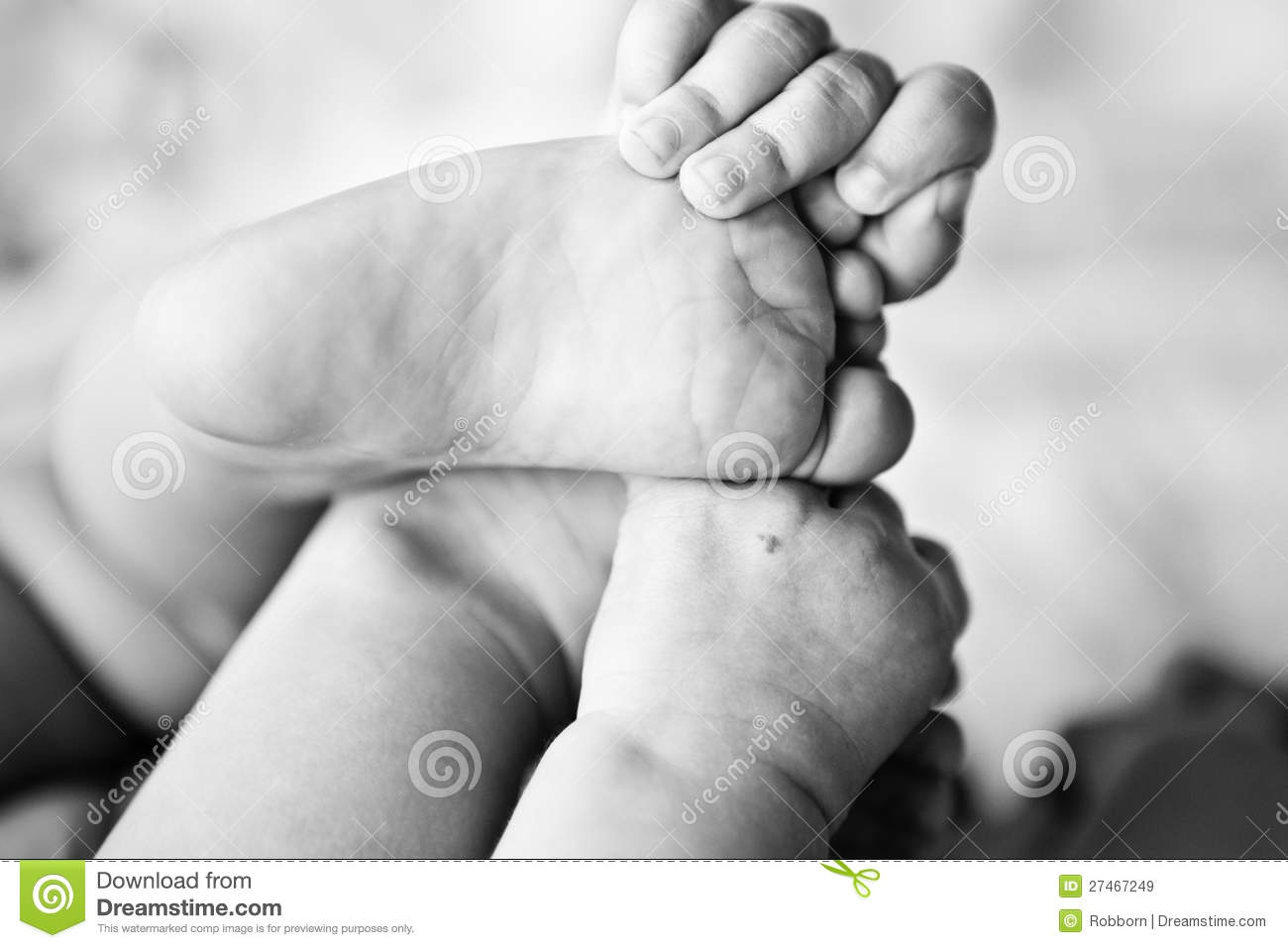 Baby Feet And Hands Royalty Free Stock Images - Image ...