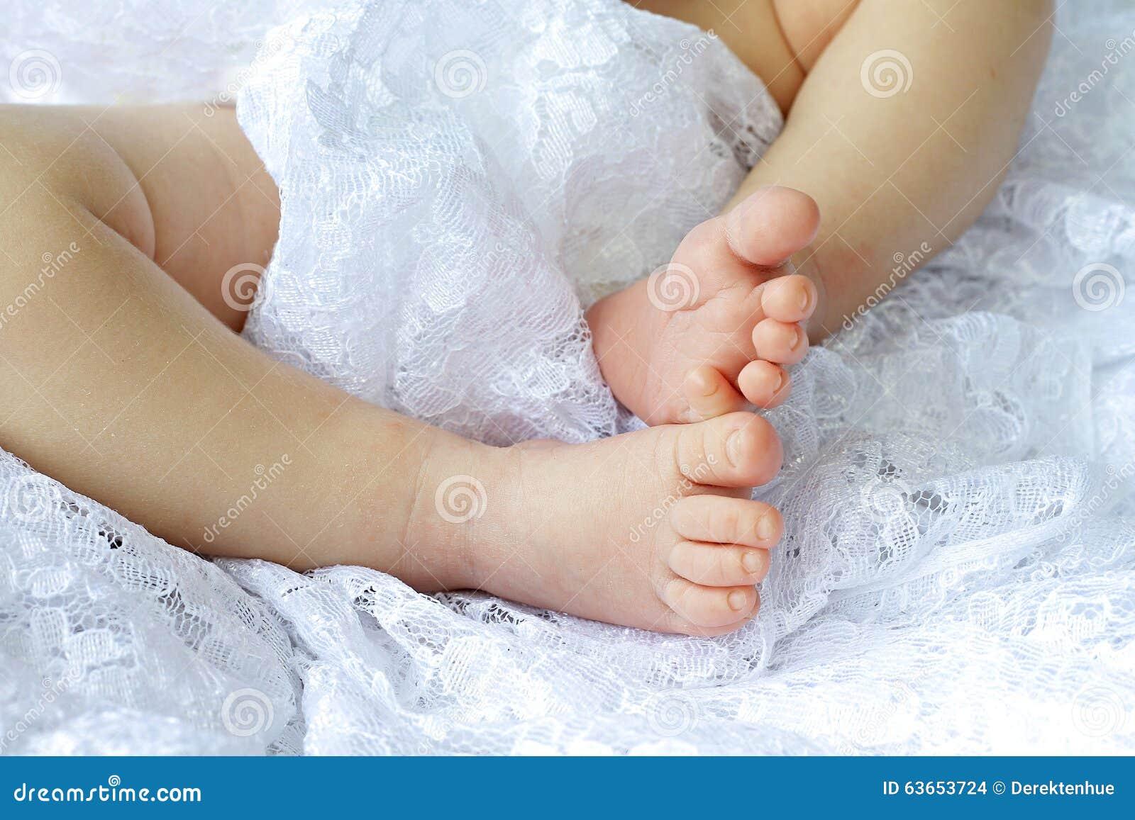Baby Feet Stock Photo Image Of Family Born Happiness