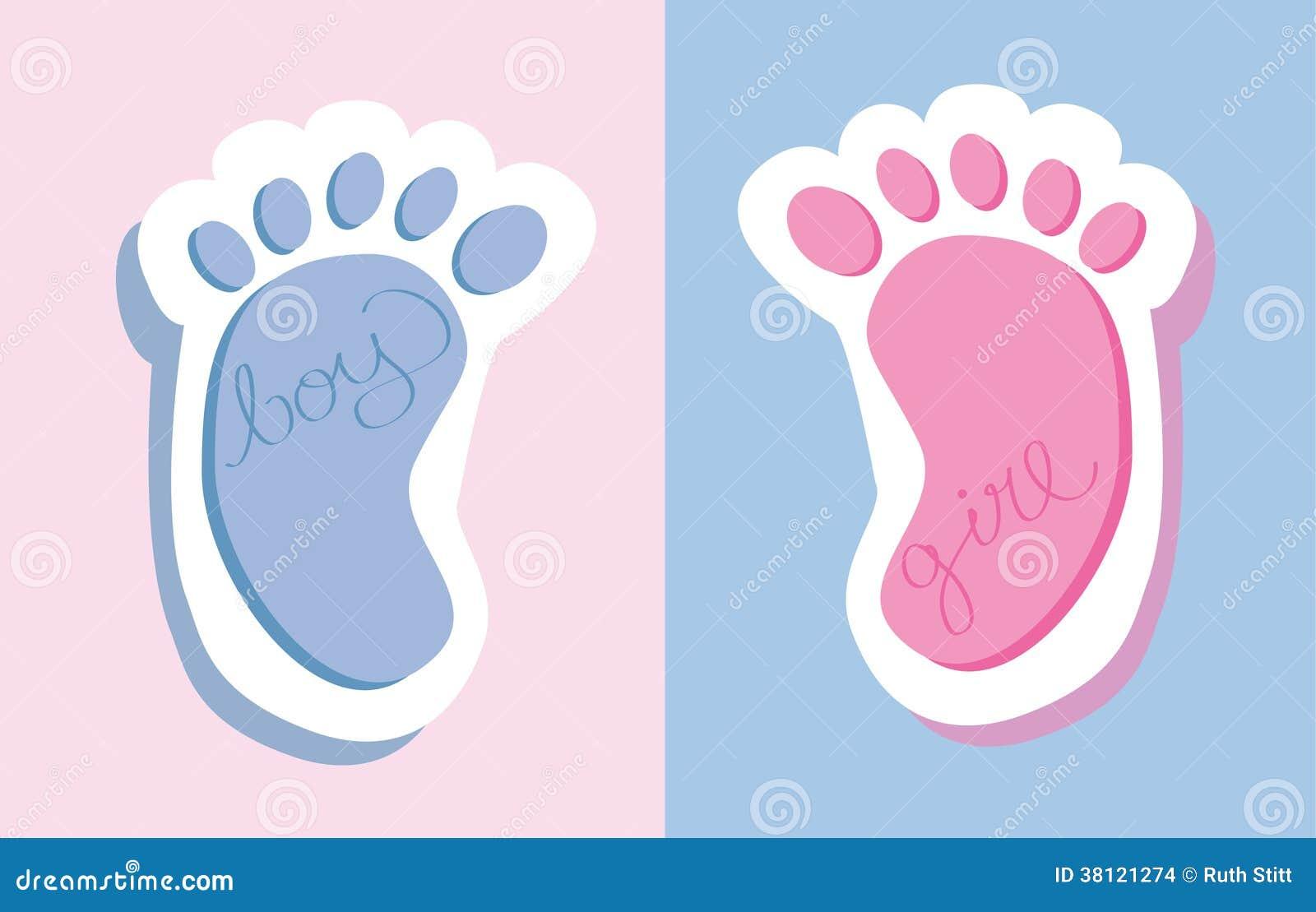 Следы ног с поздравлениями