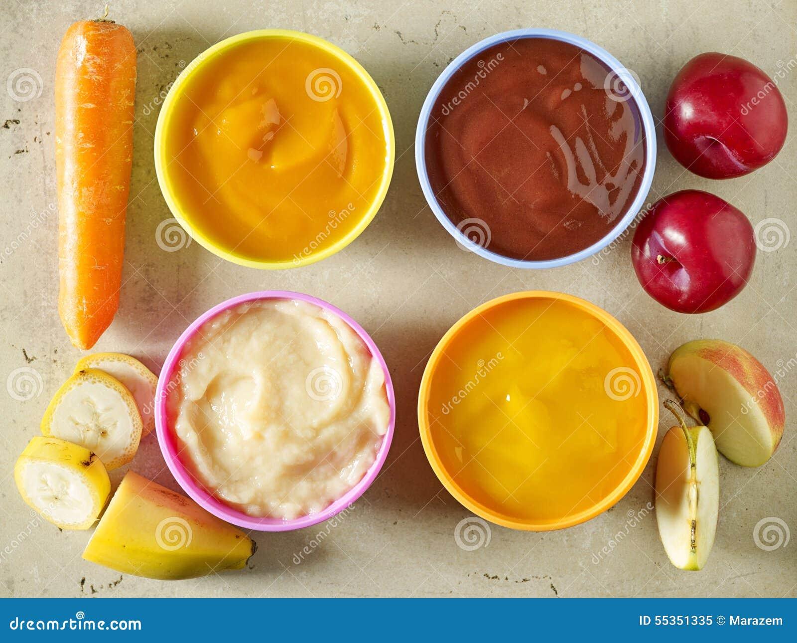 Baby Food Stock Photo - Image: 55351335