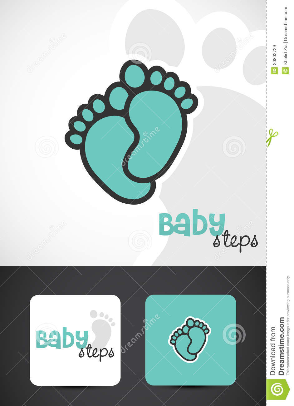 Baby Foot Logo Royalty Free Stock Images - Image: 20802729