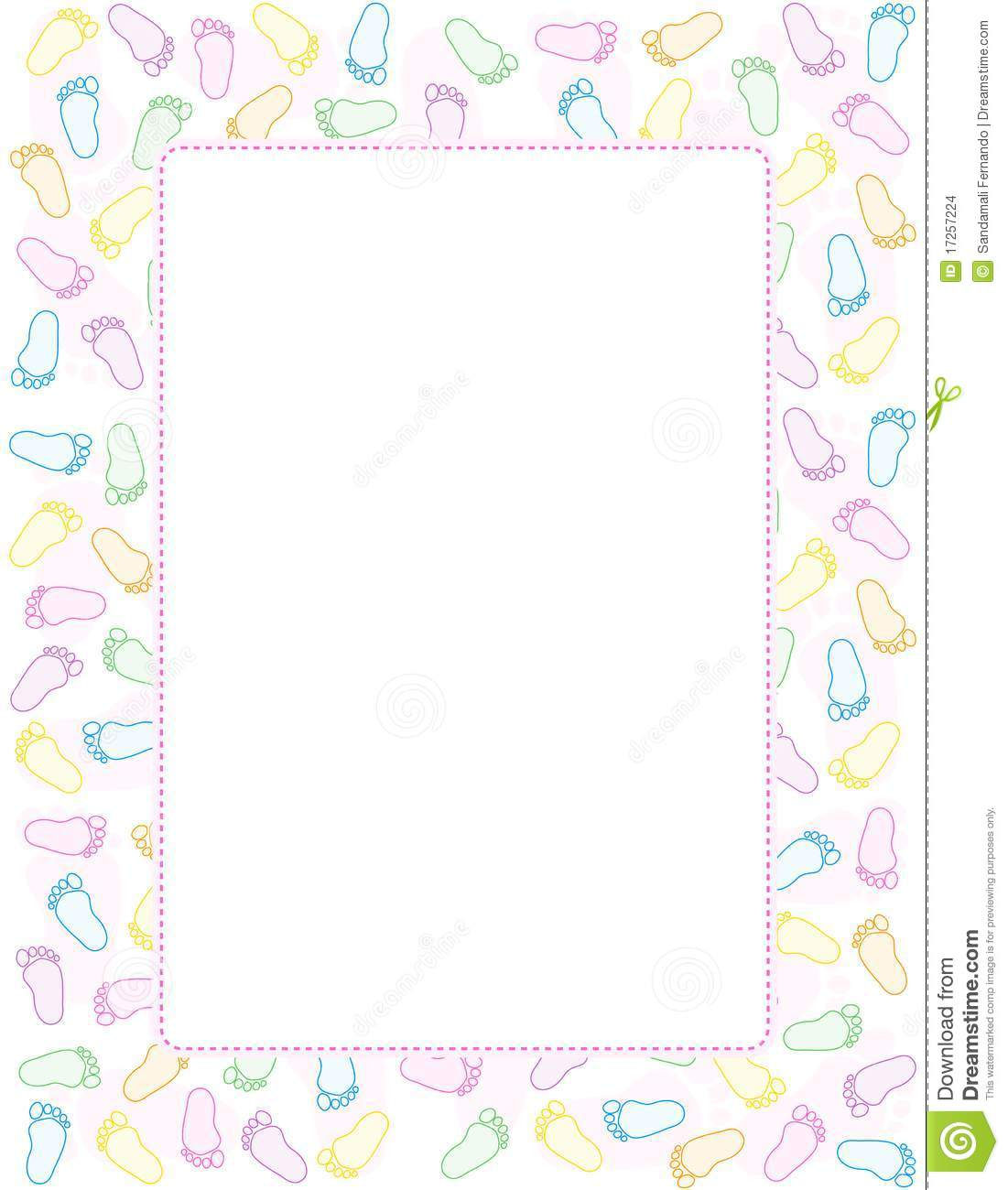 baby shower border clip art images pictures becuo