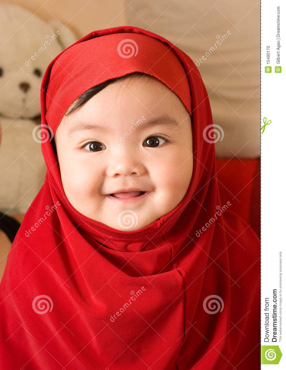 baby girl stock photo. image of expression, dress, baby - 15490170