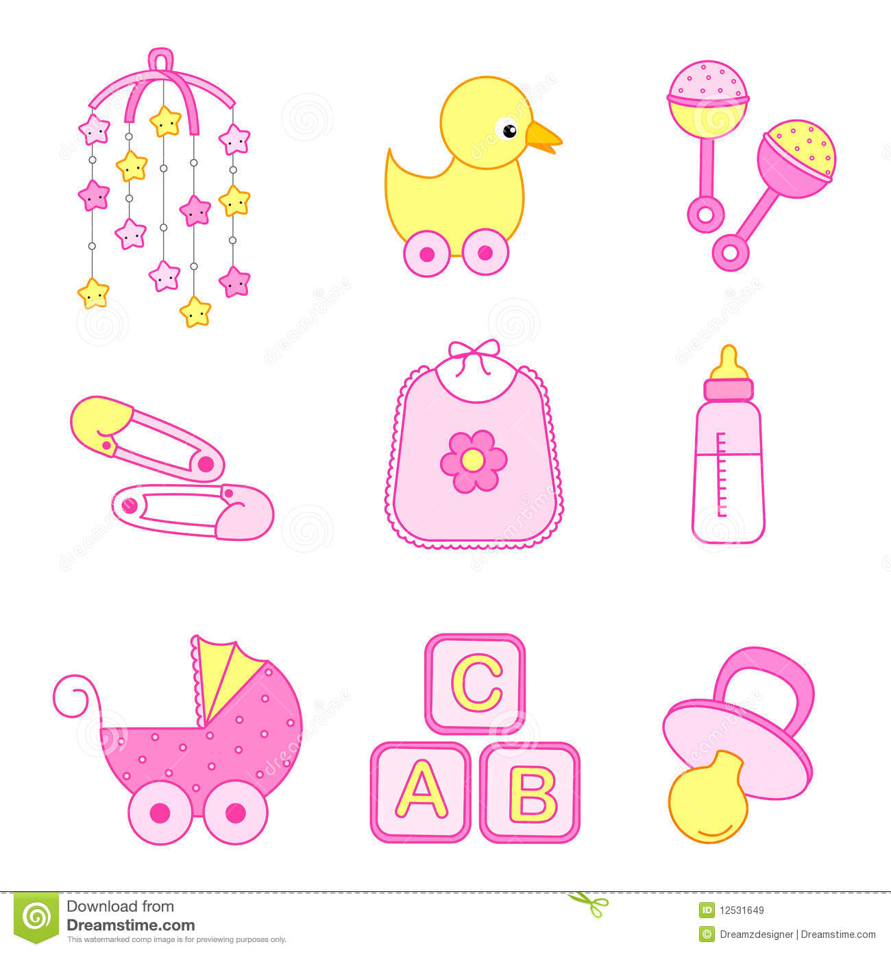 Sweet twins royalty free stock photo image 10320675 - Baby Girl Accessories Royalty Free Stock Images