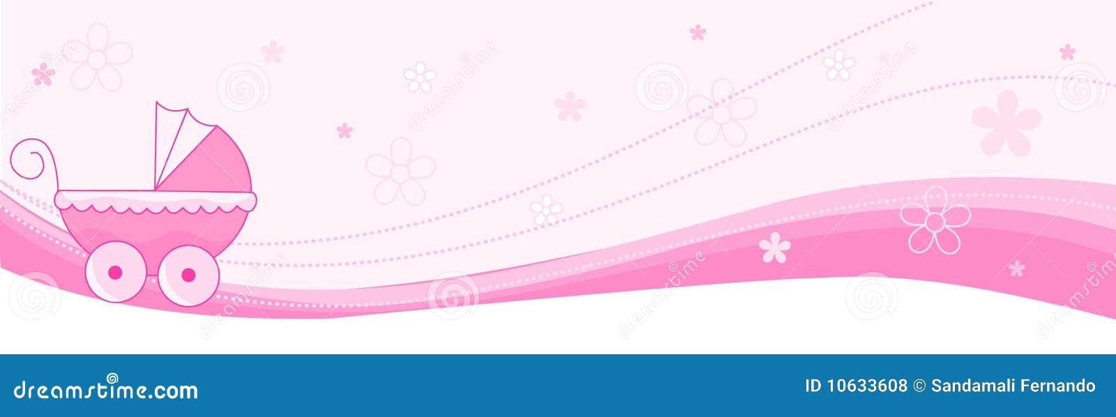 Congratulations Baby Girl Banner