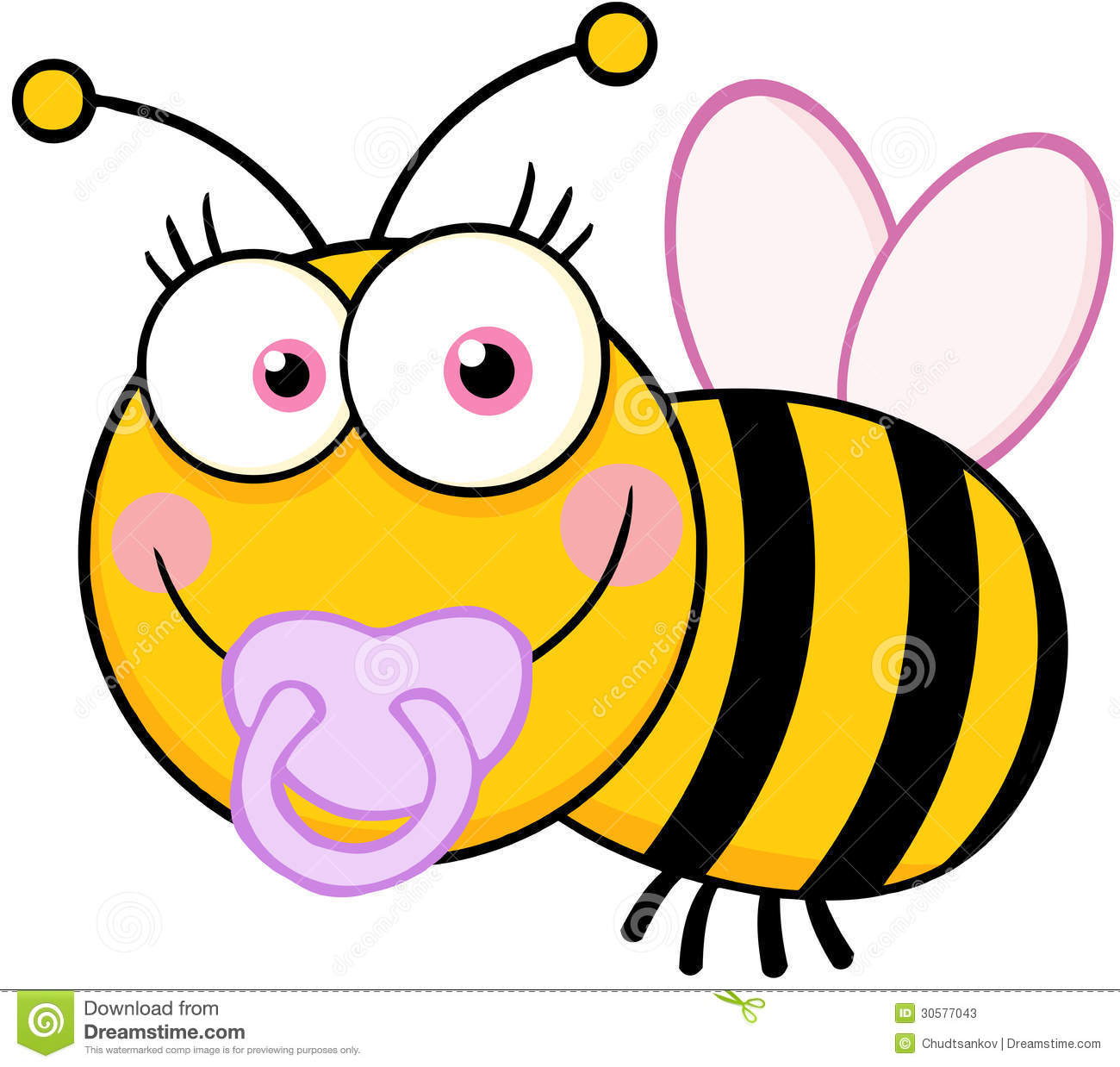 Cute Cartoon Bumble Bee Clipart Amp Stock Pictures