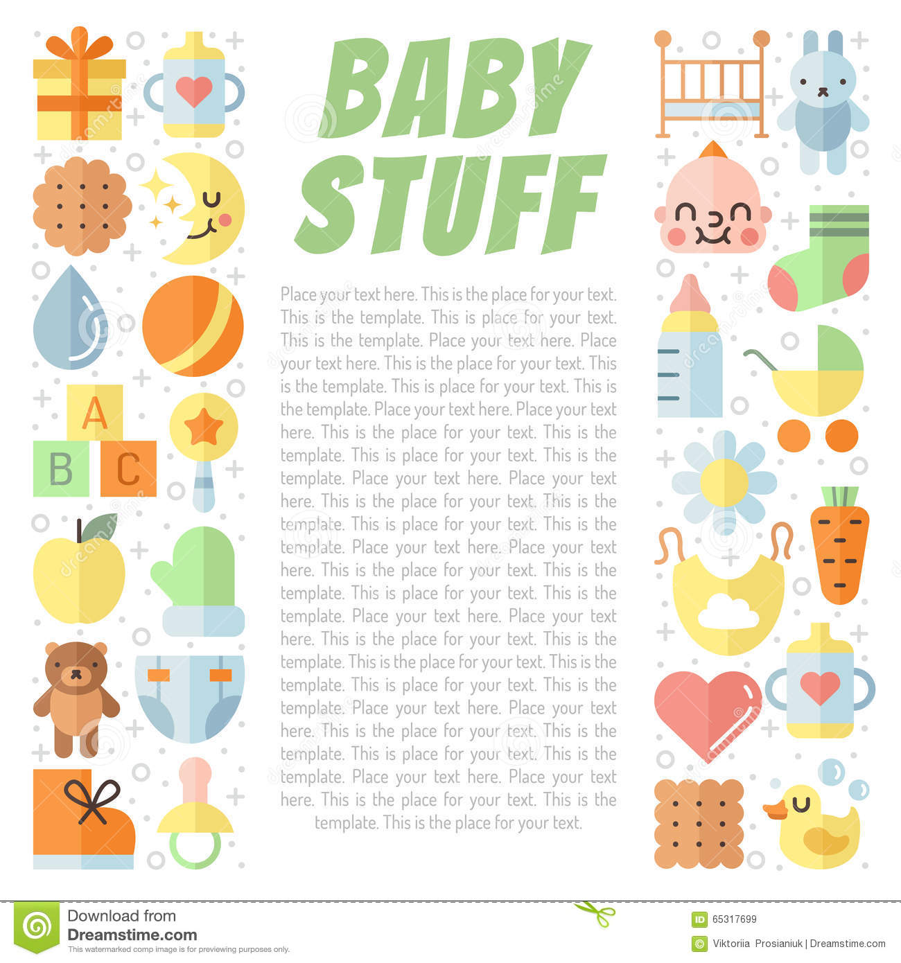 Baby Stuff Royalty Free Stock